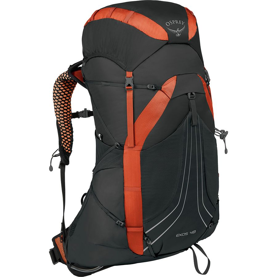 Backpack - The Osprey Exos 48 has been my go to backpacking pack for a few years now. Osprey recently came out with a women's model of this pack - The Eja. I have not had the chance to try it out, but I hear good things. The Exos and Eja have a sturdier frames than most lightweight packs, carry heavier loads comfortably, and are also a pretty good value for the quality of backpack. If you don't mind a heavier pack in exchange for a little more support and a larger carrying capacity, then I'd highly recommend looking into the Gregory Zulu 55L.