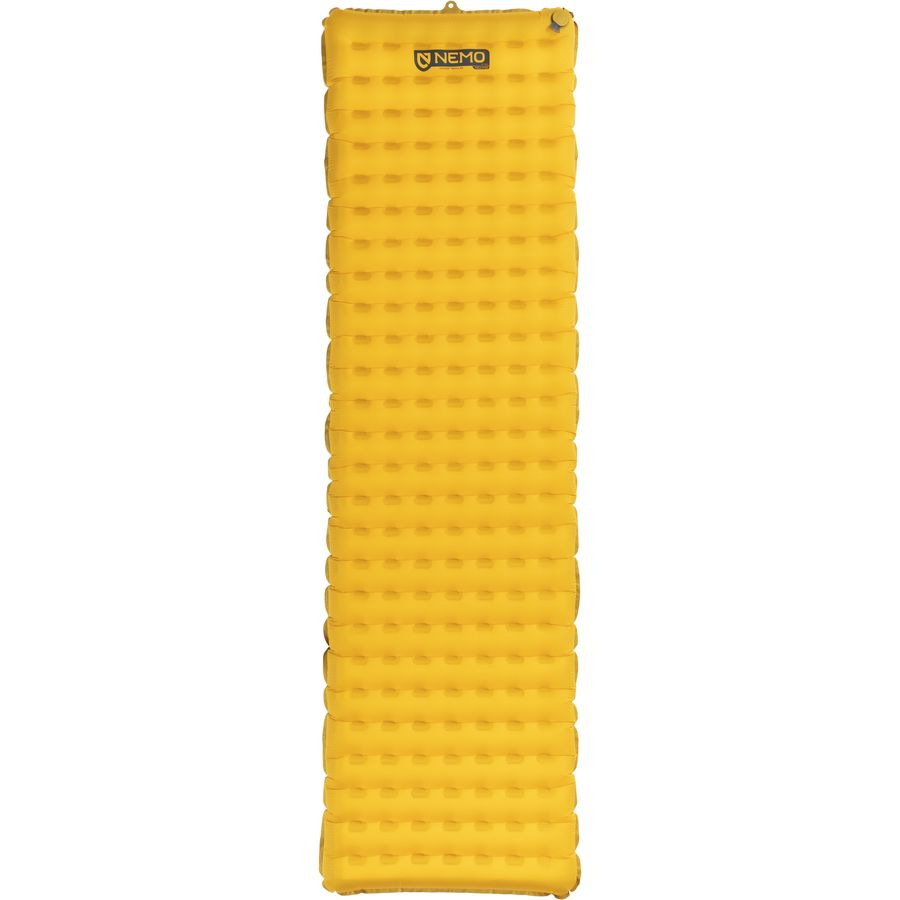 Sleeping Pad - I have two sleeping pads that I use interchangeably, The NEMO Equipment Inc. Tensor Insulated Sleeping Pad, and the Therm-a-Rest NeoAir XLite Sleeping Pad. Comfortable and ultra-light, the Therm-a-Rest NeoAir XLight is a mainstay in the backpacking. I've read complaints about the pad making noise when you move around on it, but I've never noticed. Like the NeoAir, the Tensor is a lightweight sleeping pad for minimalist backpacking. Both pads reliably hold air all night, and fold down into a compact size that easily fits inside my backpack. Plus, the insulation means extra protection against the cold ground, which we already know is a priority for me!