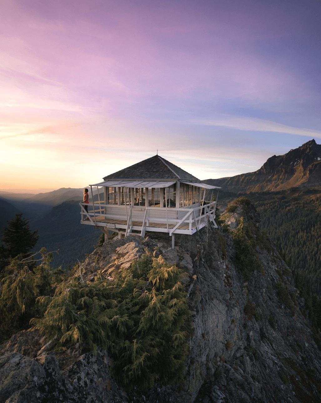 Park Butte Lookout in the Mount Baker Wilderness.