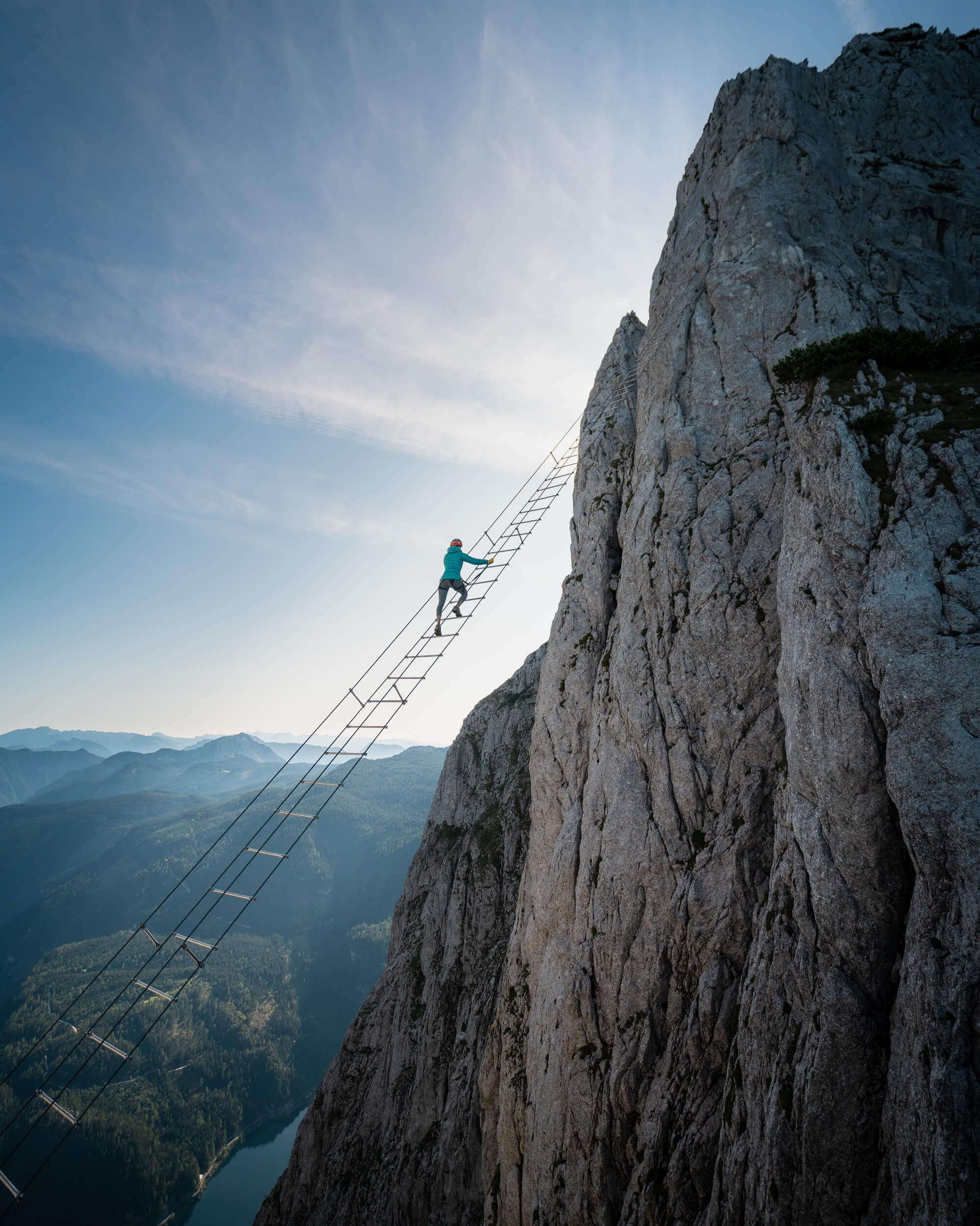 Sky Ladder via ferrata Austria