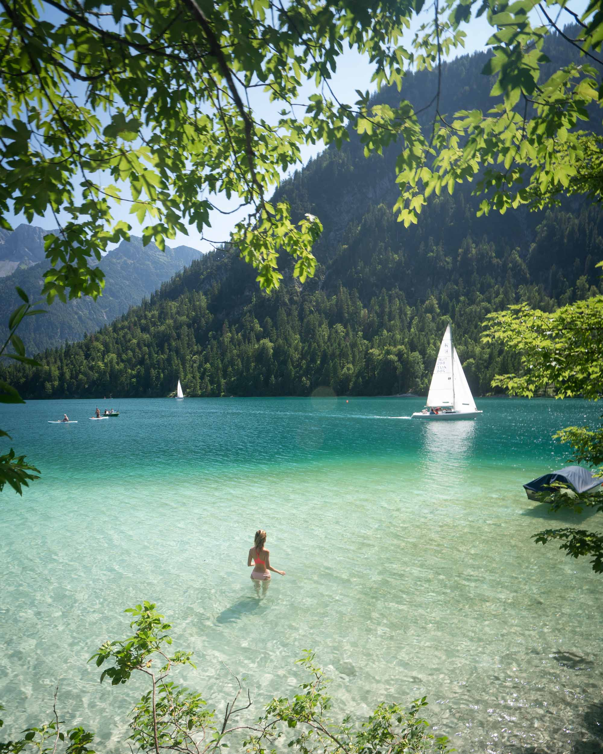 Plansee Lake in Austria