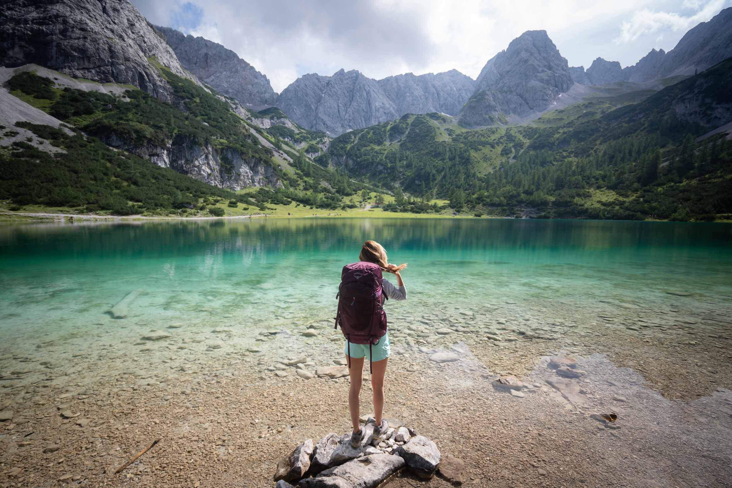 Seebensee Lake in Austria