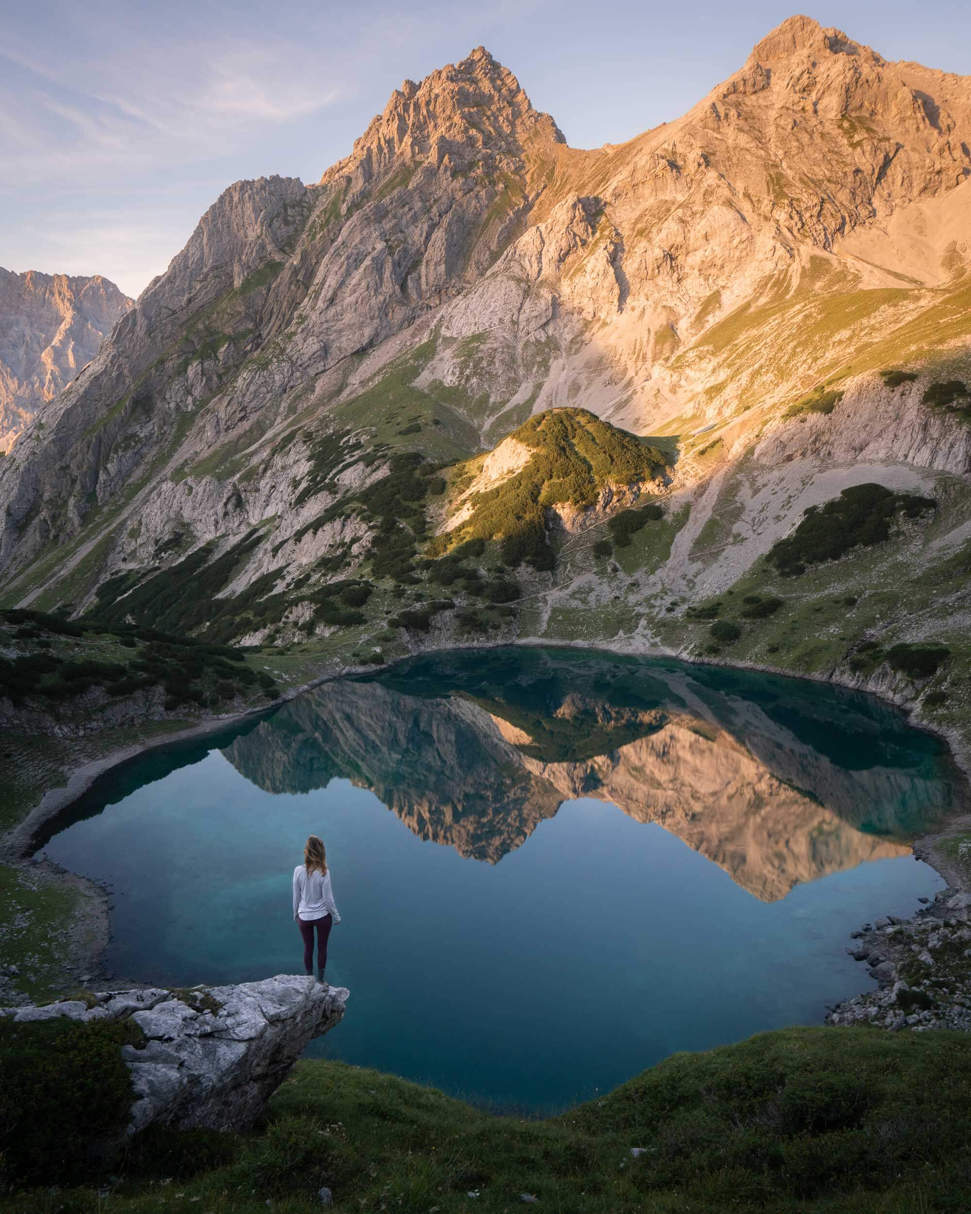 Drachansee Lake in Austria