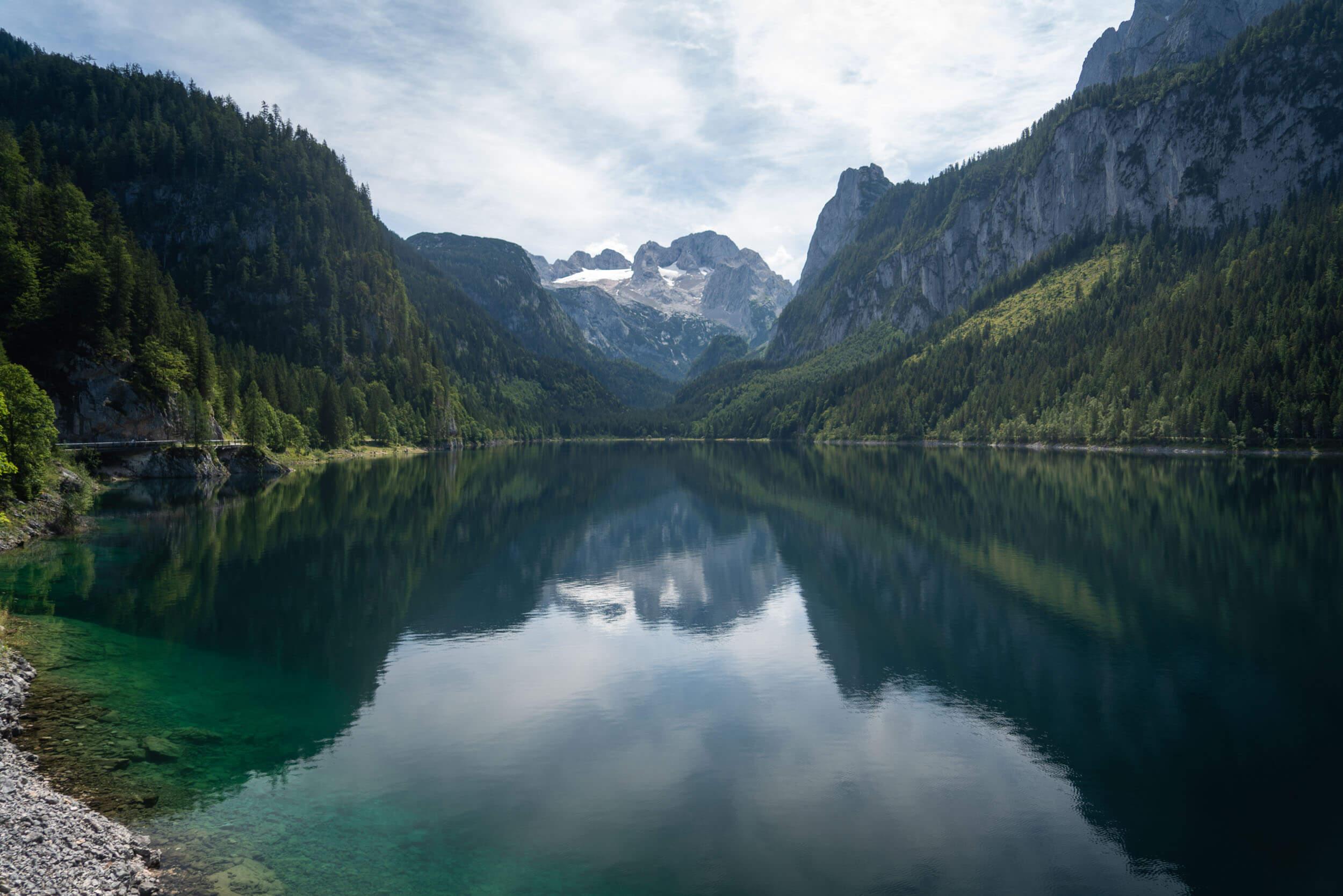 Lake Gosausee in Austria