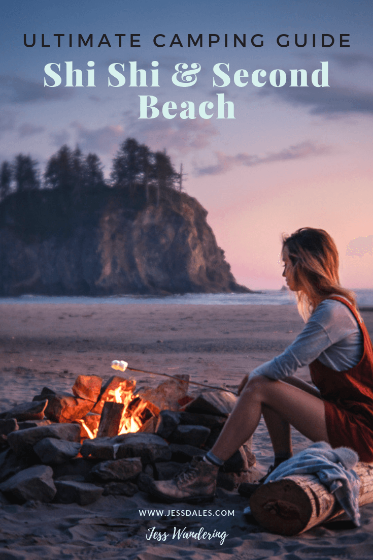 How to camp at Shi Shi Beach and Second Beach on the Olympic Peninsula in Washington State.