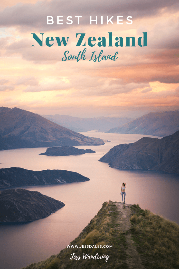 The best hikes on New Zealand's South Island!