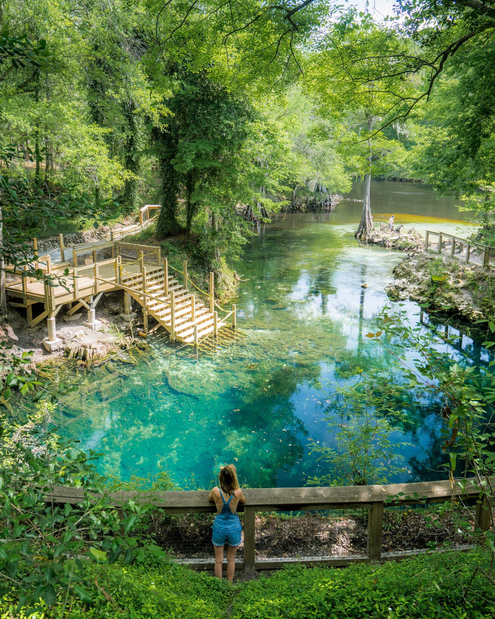 Madison Blue Springs Park, Florida.