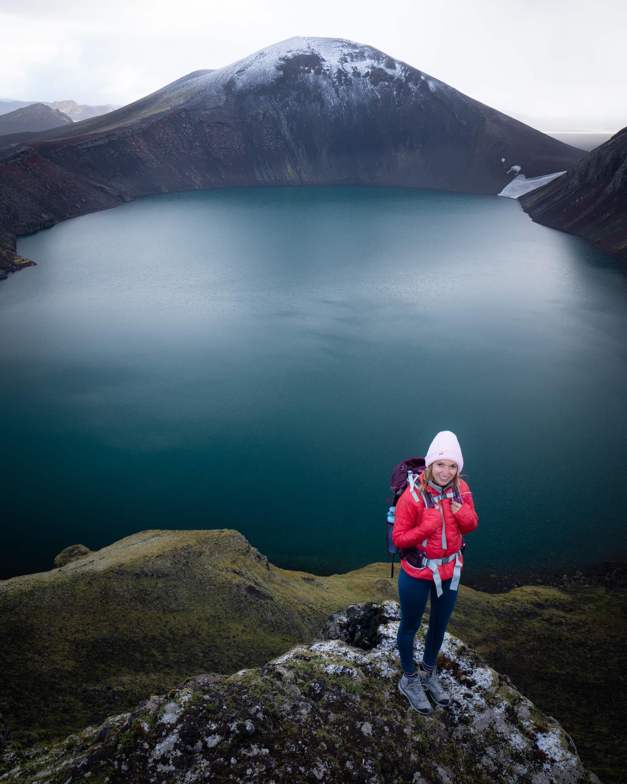 Hnausapollur Crater, Iceland