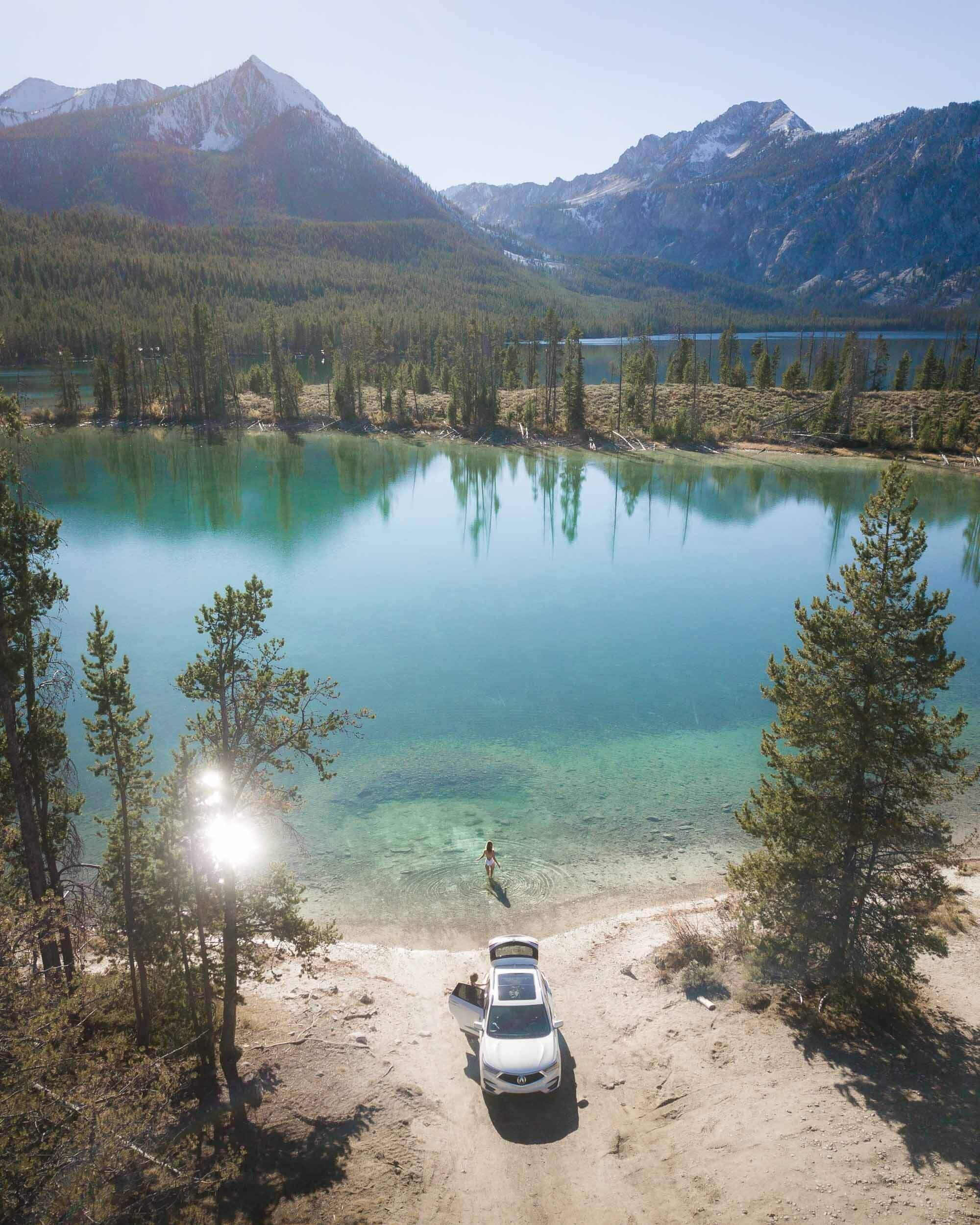 Pettit Lake, Idaho.