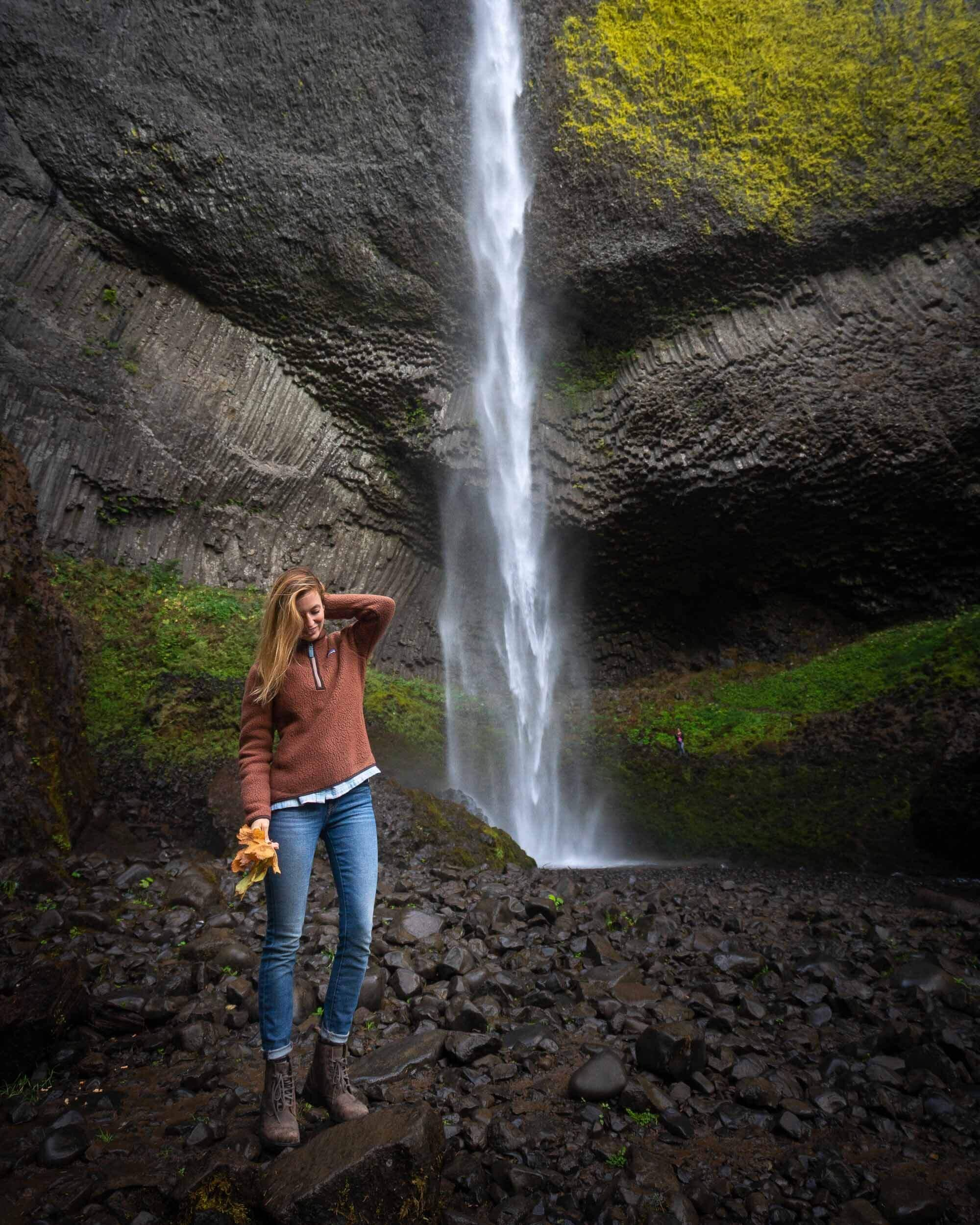 Latourell Falls is an easily accessible waterfall along the Columbia River Gorge.