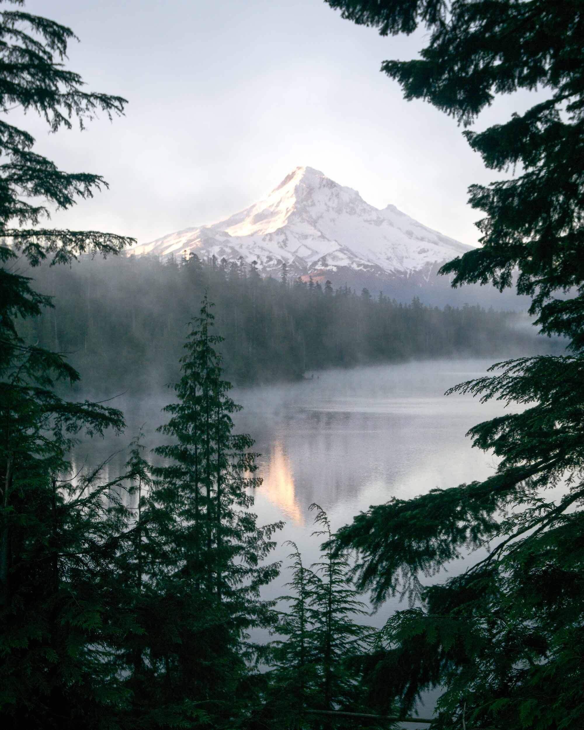 Lost Lake at Mount Hood, Oregon.