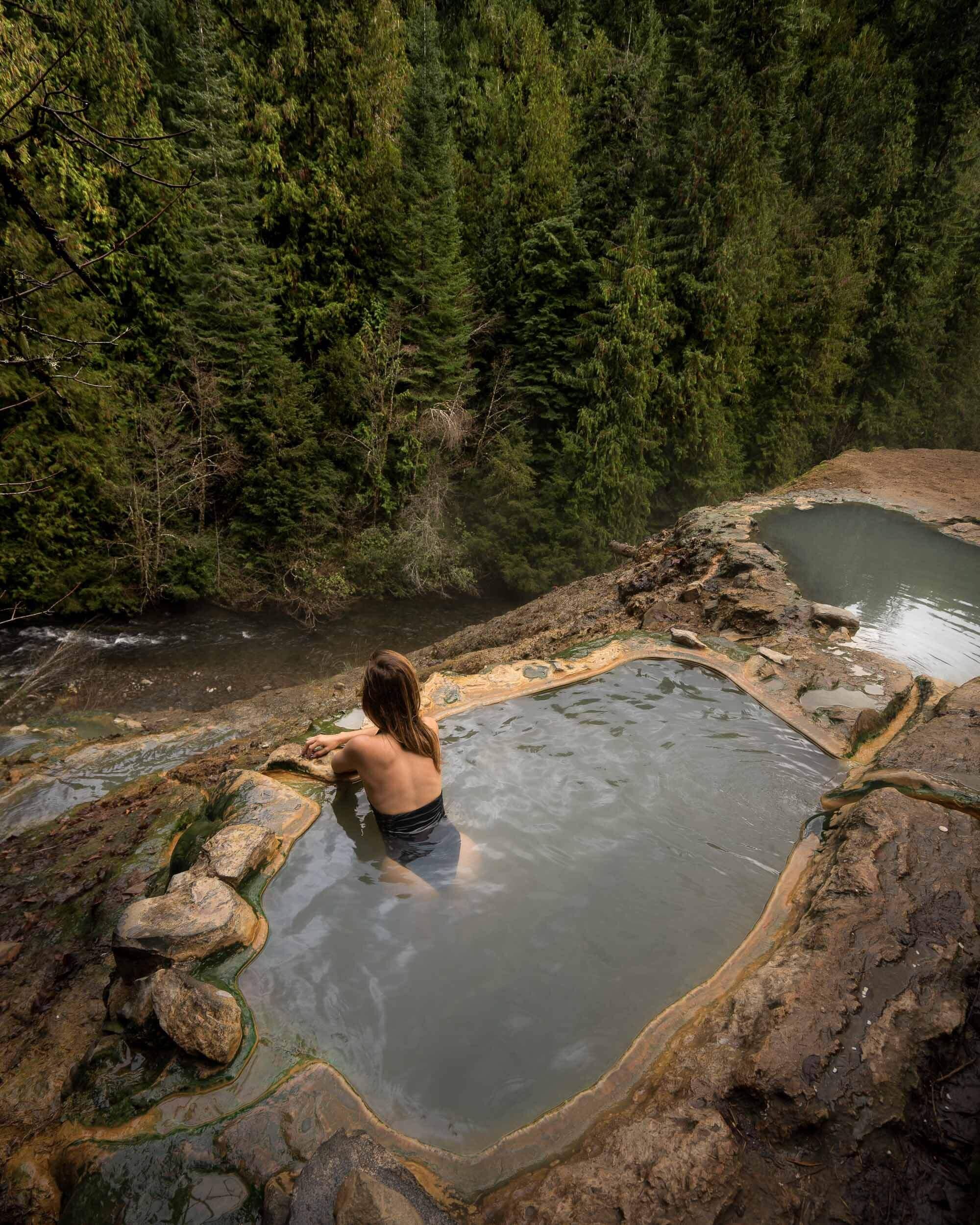 Umpqua Hot Spring in Oregon.