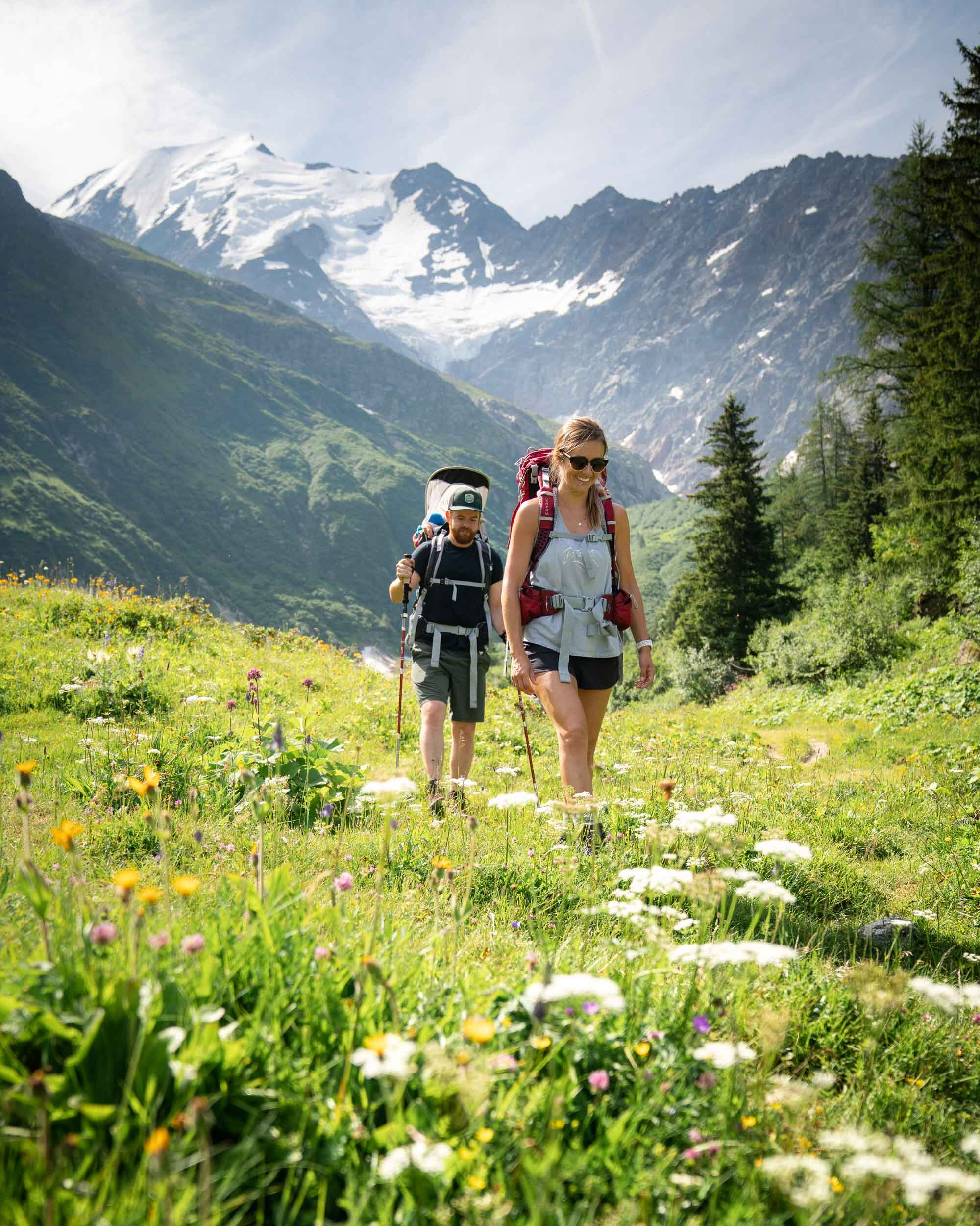 The Tour du Mont Blanc.