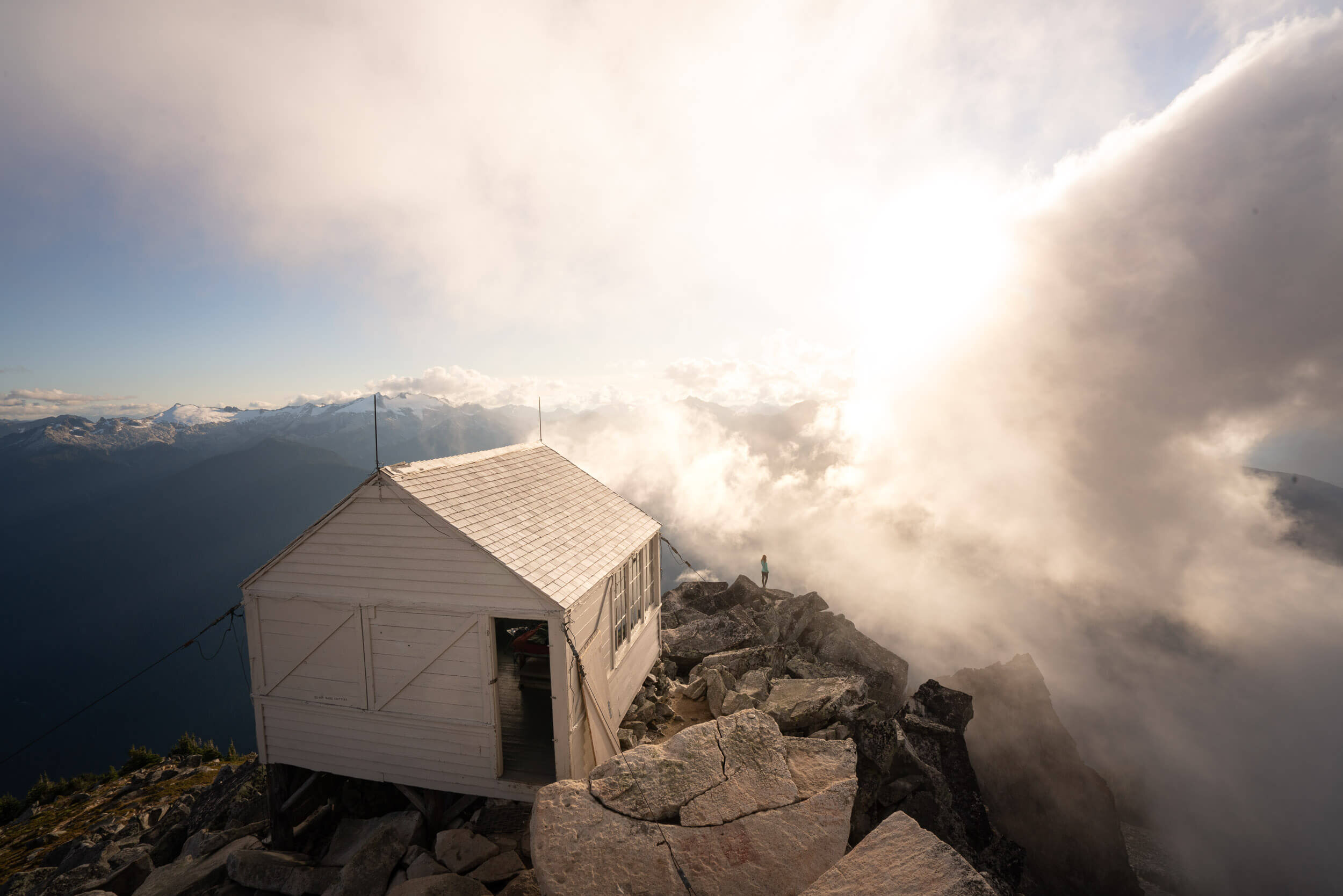 Hidden Lake Lookout in the North Cascades.
