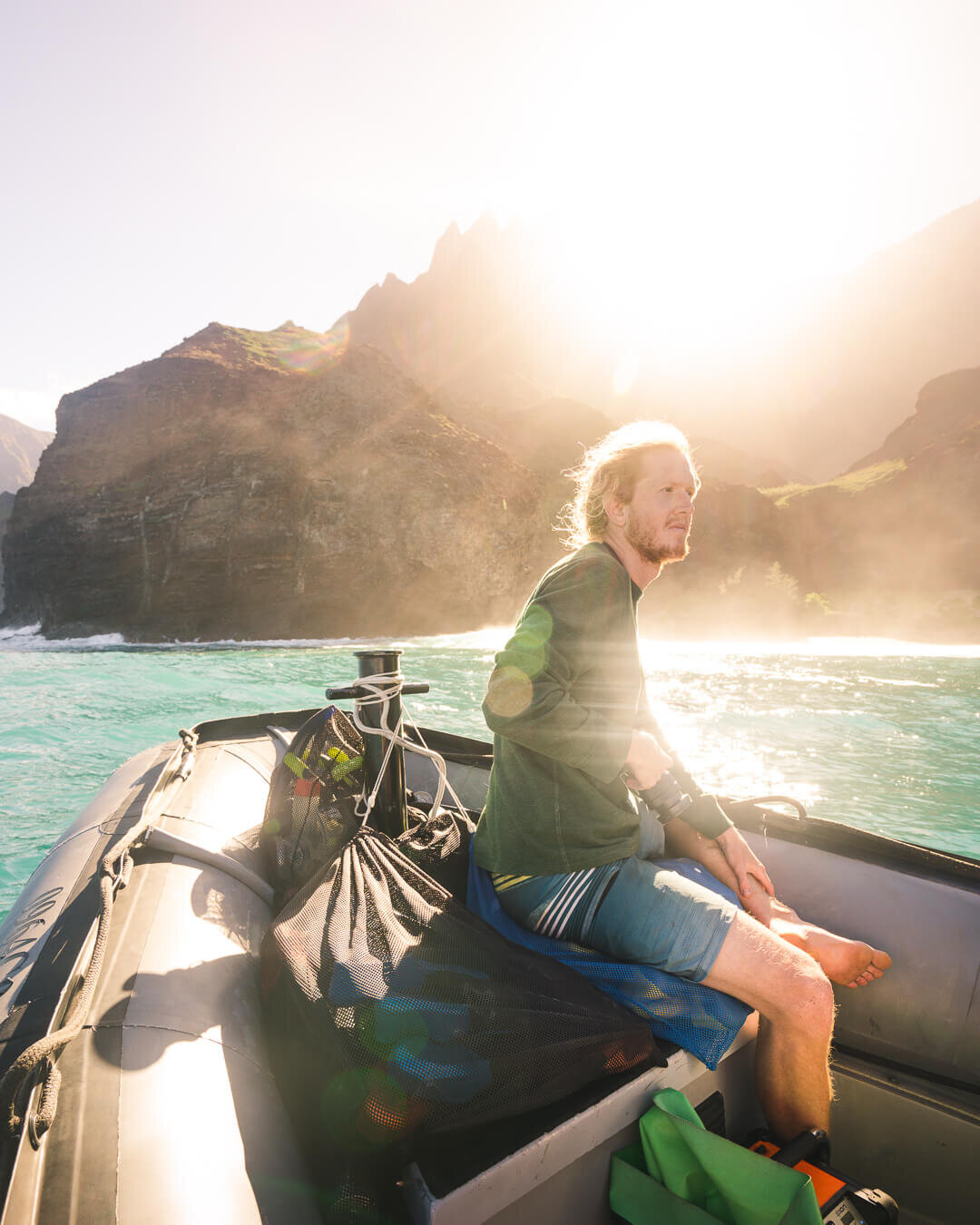 On a boat tour of Na Pali Coast you are likely to see dolphins and during certain times of the year whales!