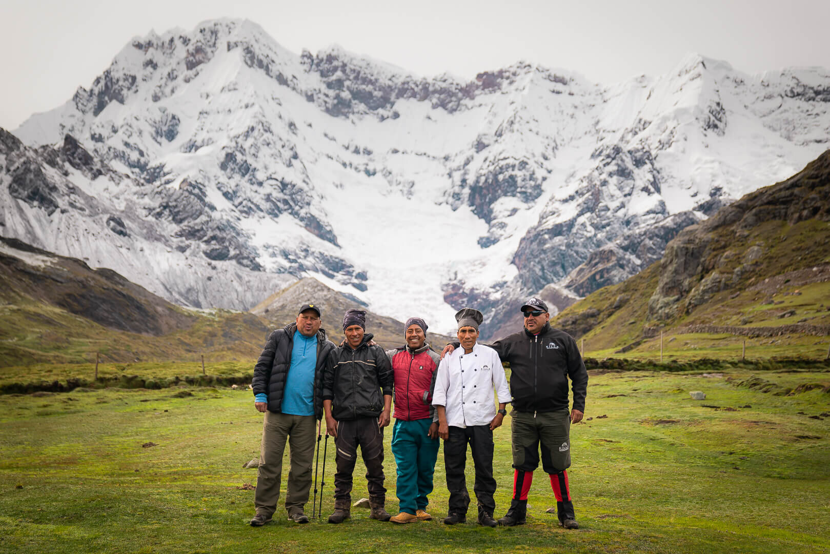 Our fabulous Killa Expedition family! Killa Expedition's team is made up of knowledgeable, passionate and experienced local guides and staff, with a strong commitment to responsible travel.