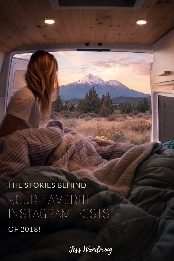 The Stories Behind Jess Wanderings Top Instagram Posts.