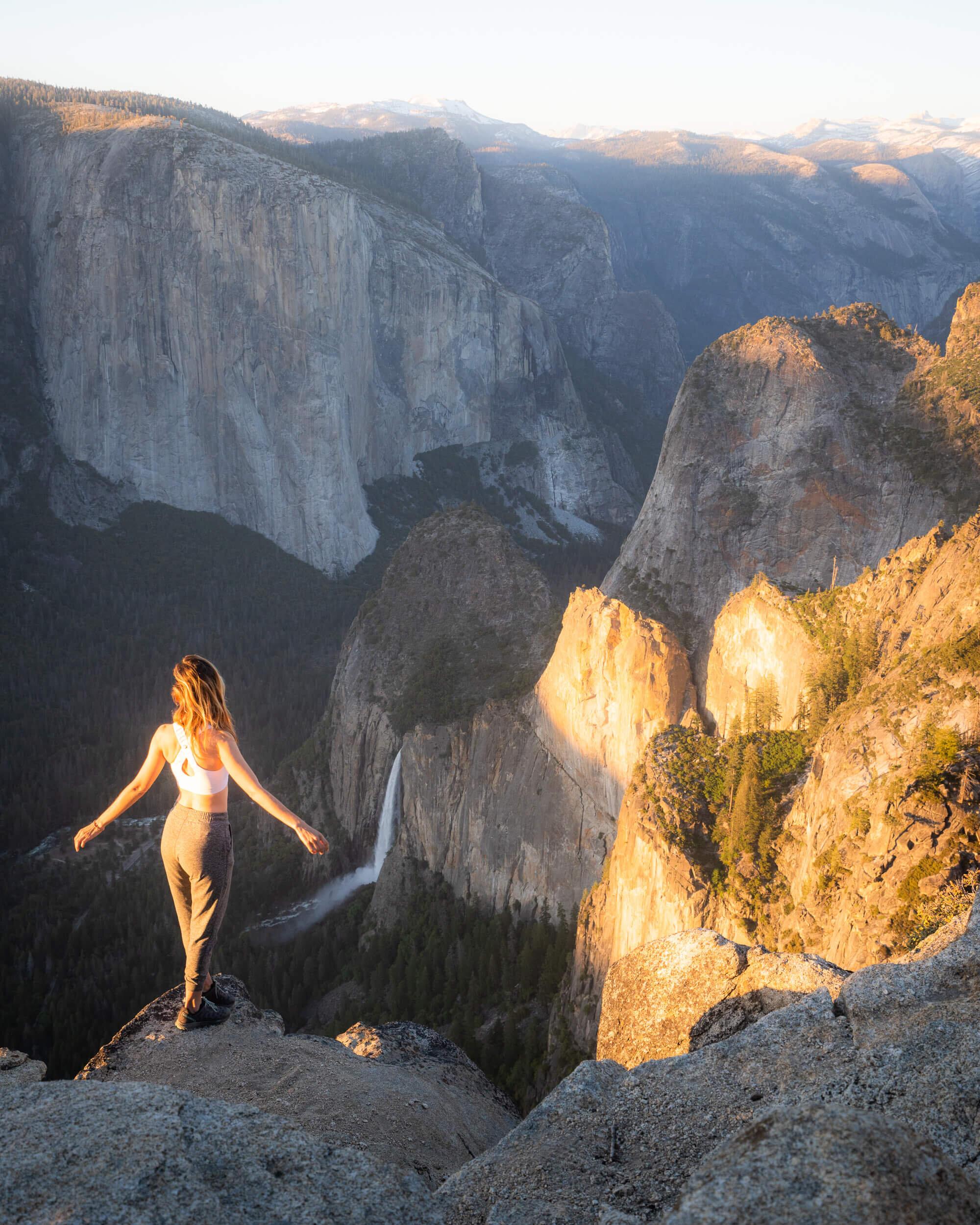 Pohono Trail in Yosemite National Park.