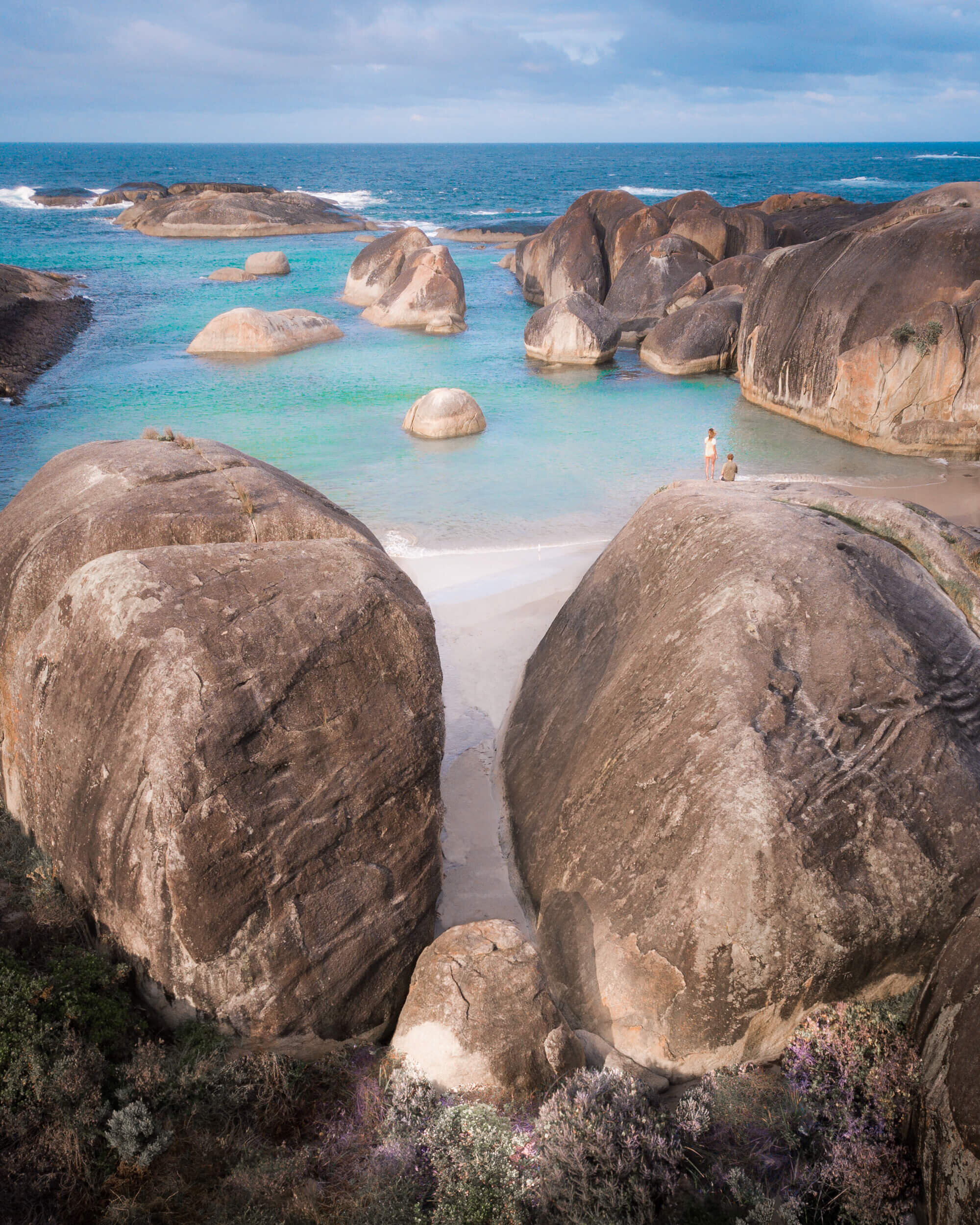 William Bay National Park  - home to  Elephant Rocks  and  Greens Pool .