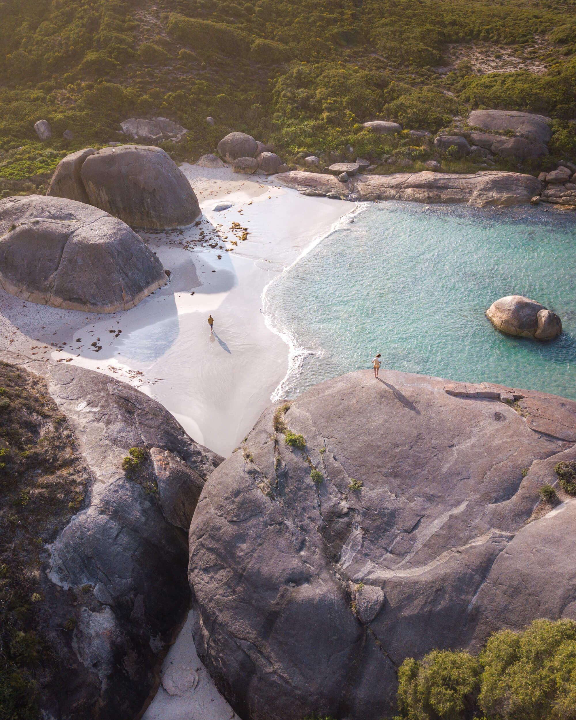 Elephant Rocks in Australia.