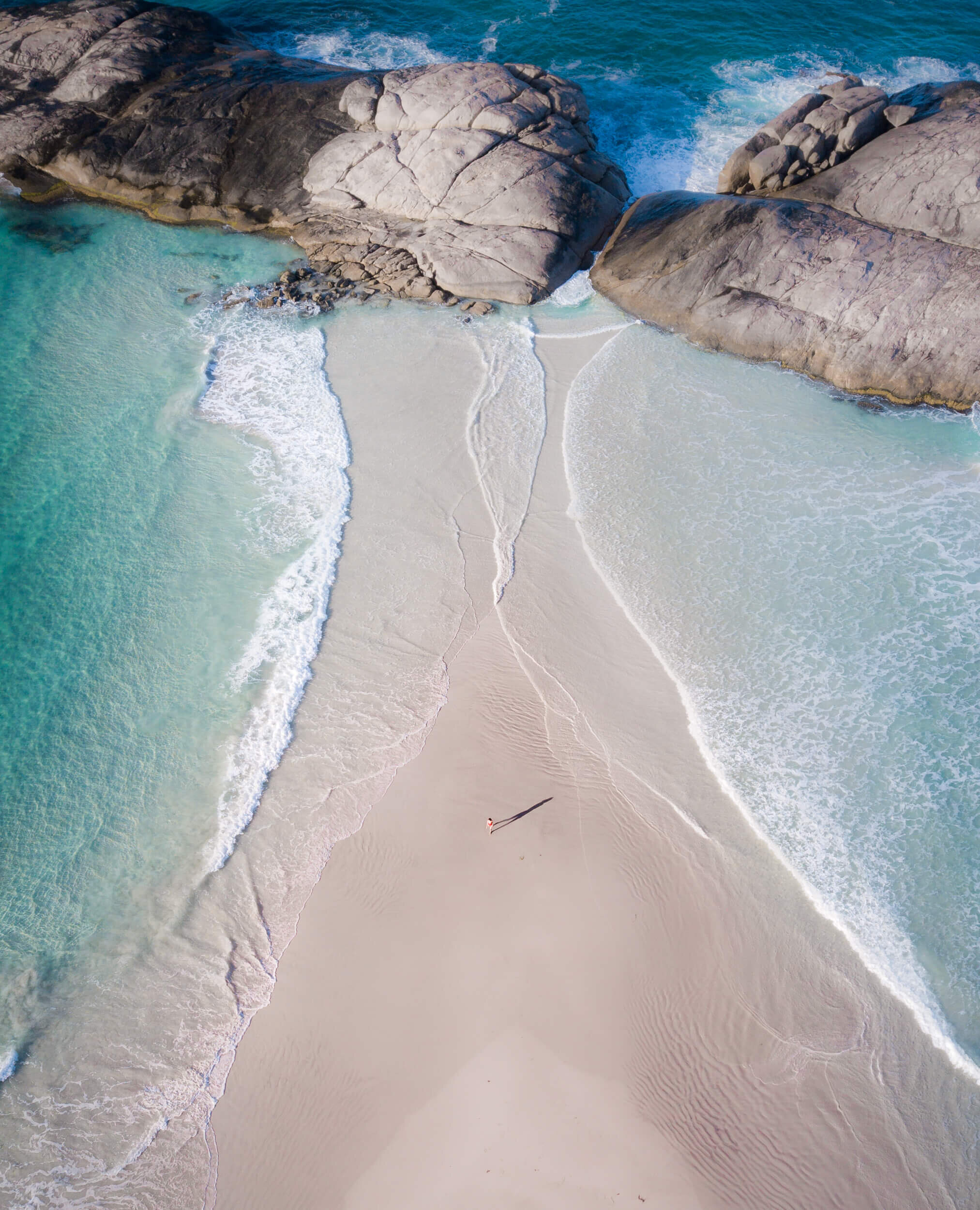 One of many beaches around Esperance and  Cape Le Grand National Park.