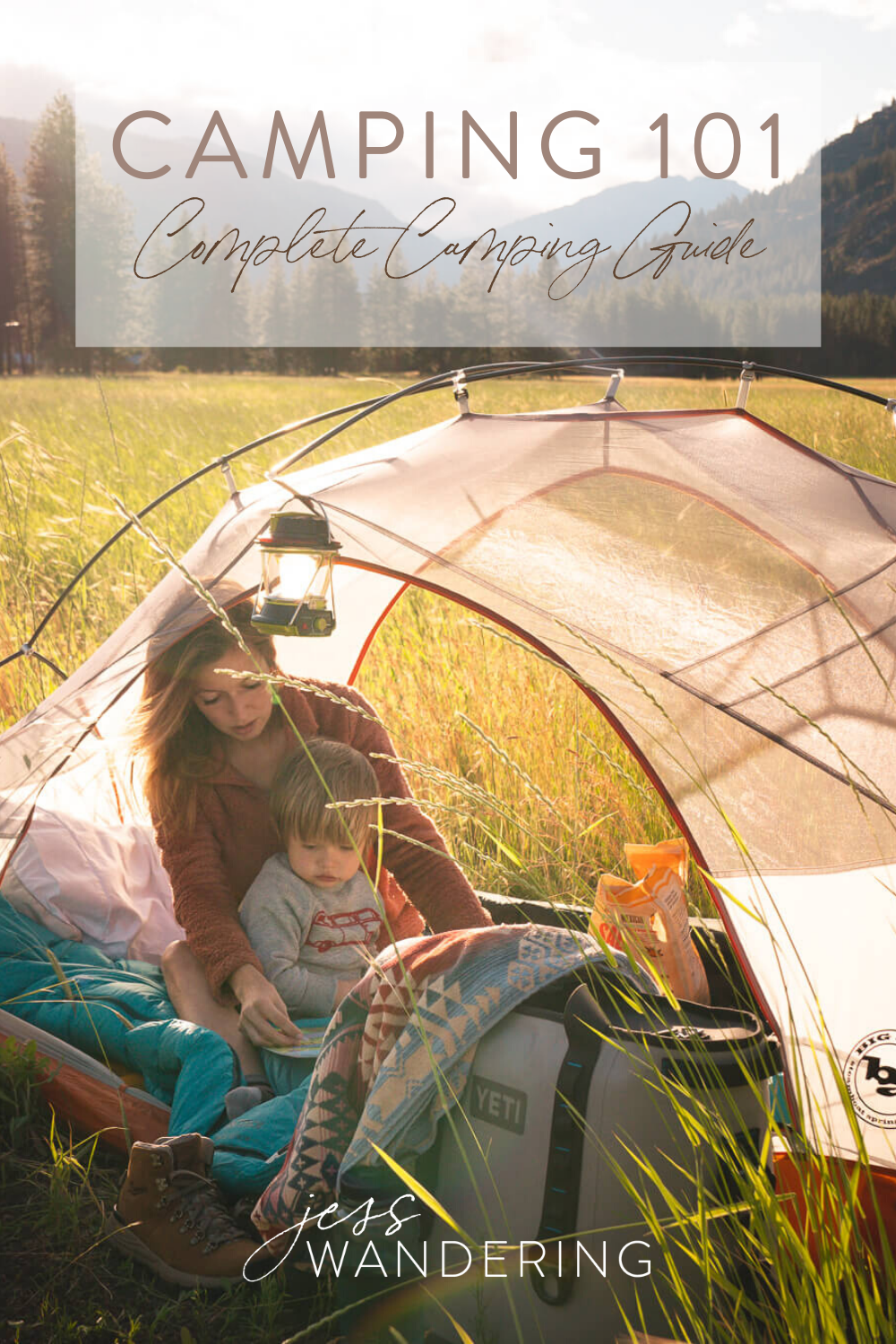 Complete camping guide for beginners.