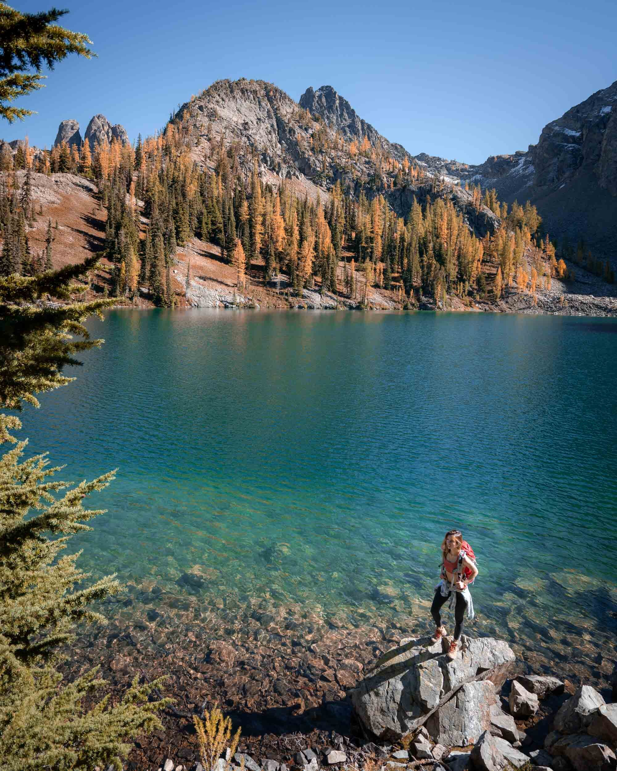 Blue Lake in the North Cascades is one of my favorite  easy hikes in Washington .