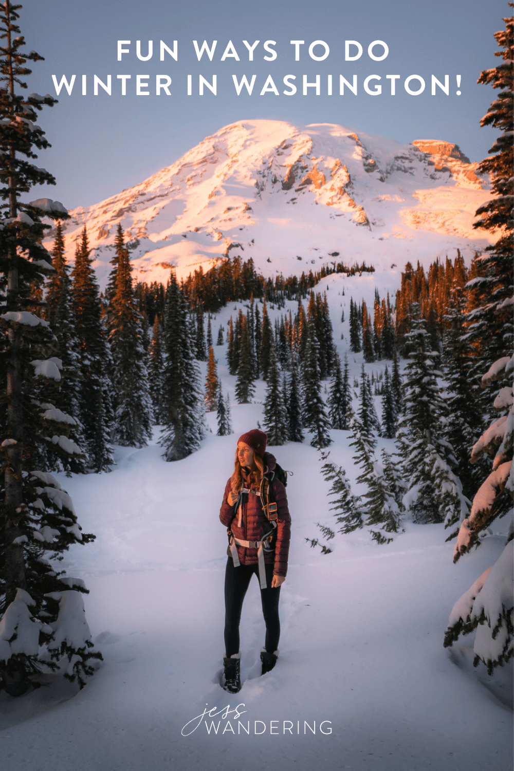 Things to do in Washington State in the Winter.