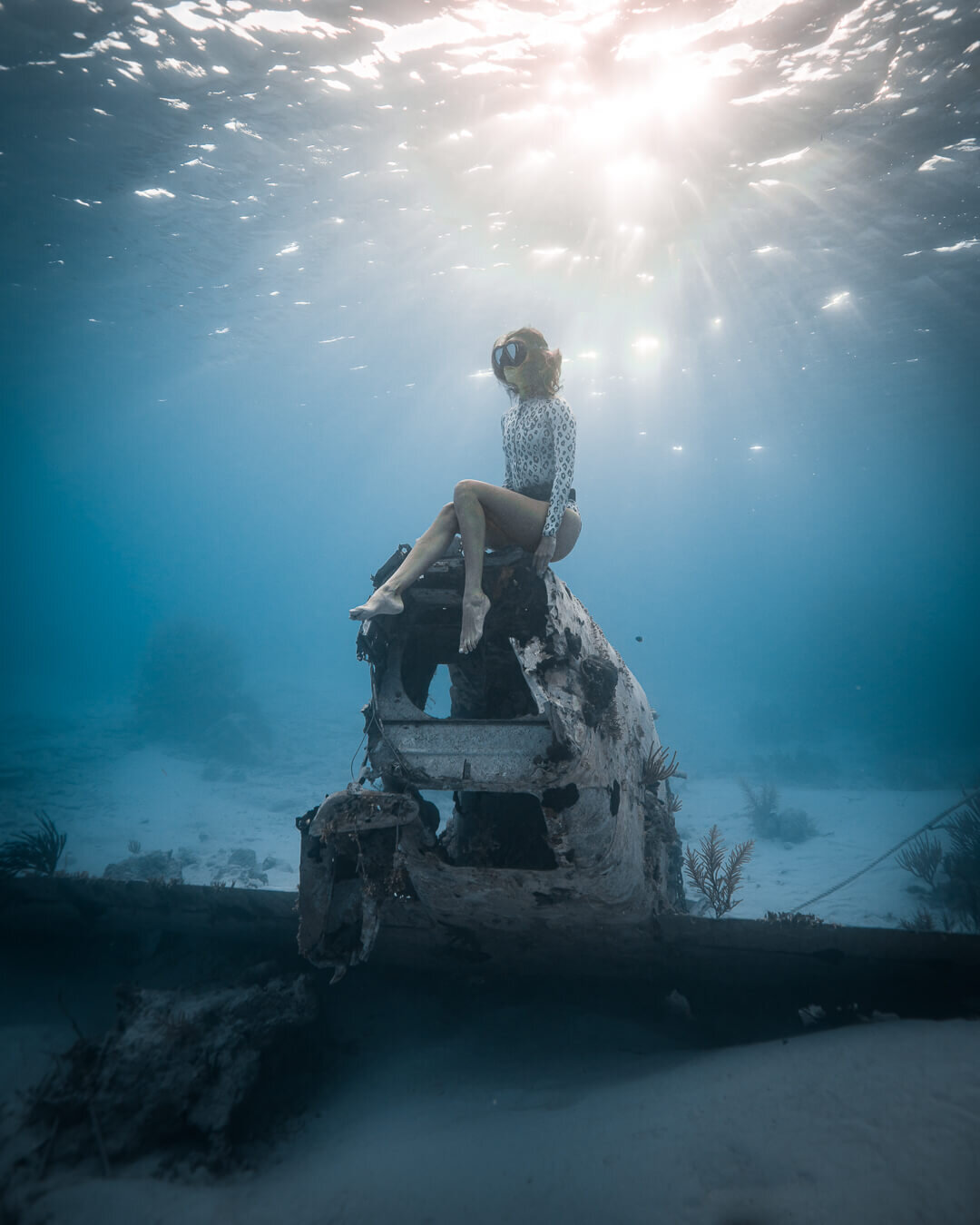 Jess Wandering The Bahamas