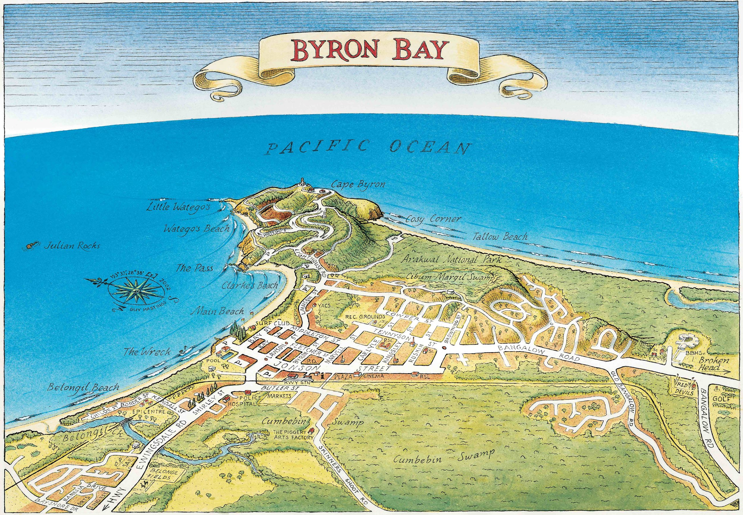 Byron Bay Guy S Surfari Maps Book your tickets online for cape byron state conservation area, byron bay: byron bay guy s surfari maps