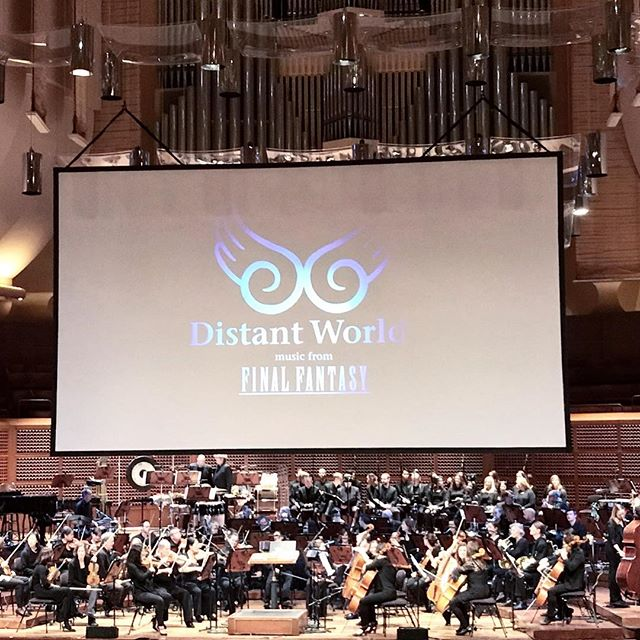 2018 highlight: Final Fantasy: Distant Worlds concert at Davies Symphony Hall. The music by Nobio Uematsu was purely nostalgic. FFX was my jam. 🌟🎼🎻 . . #finalfantasy #distantworlds #nobuouematsu #videogames #photography #sanfrancisco #graphicdesign #graphicdesigner #newyearseve #2018highlights #creative #musicconcert