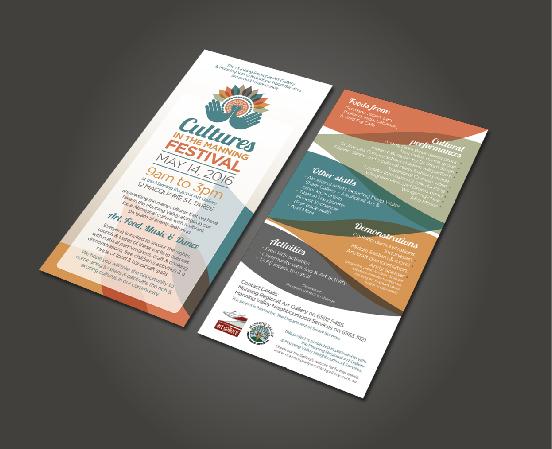 Cultures in the Manning DL Flyer Design