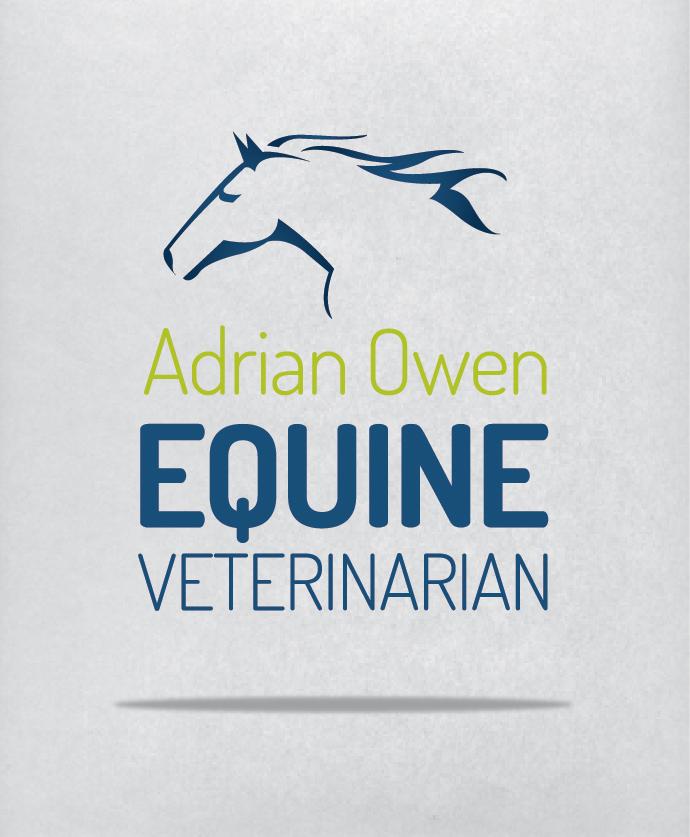 Logo Design   Adrian Owen, Equine Veterinarian   Taree, NSW