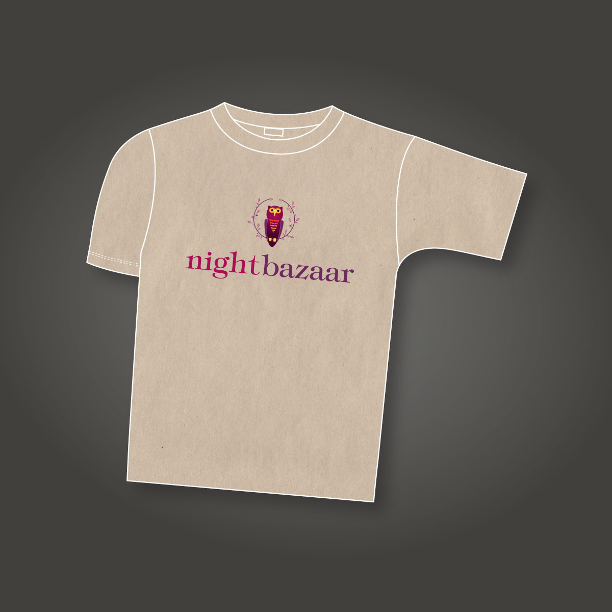 Night Bazaar T-Shirt Design