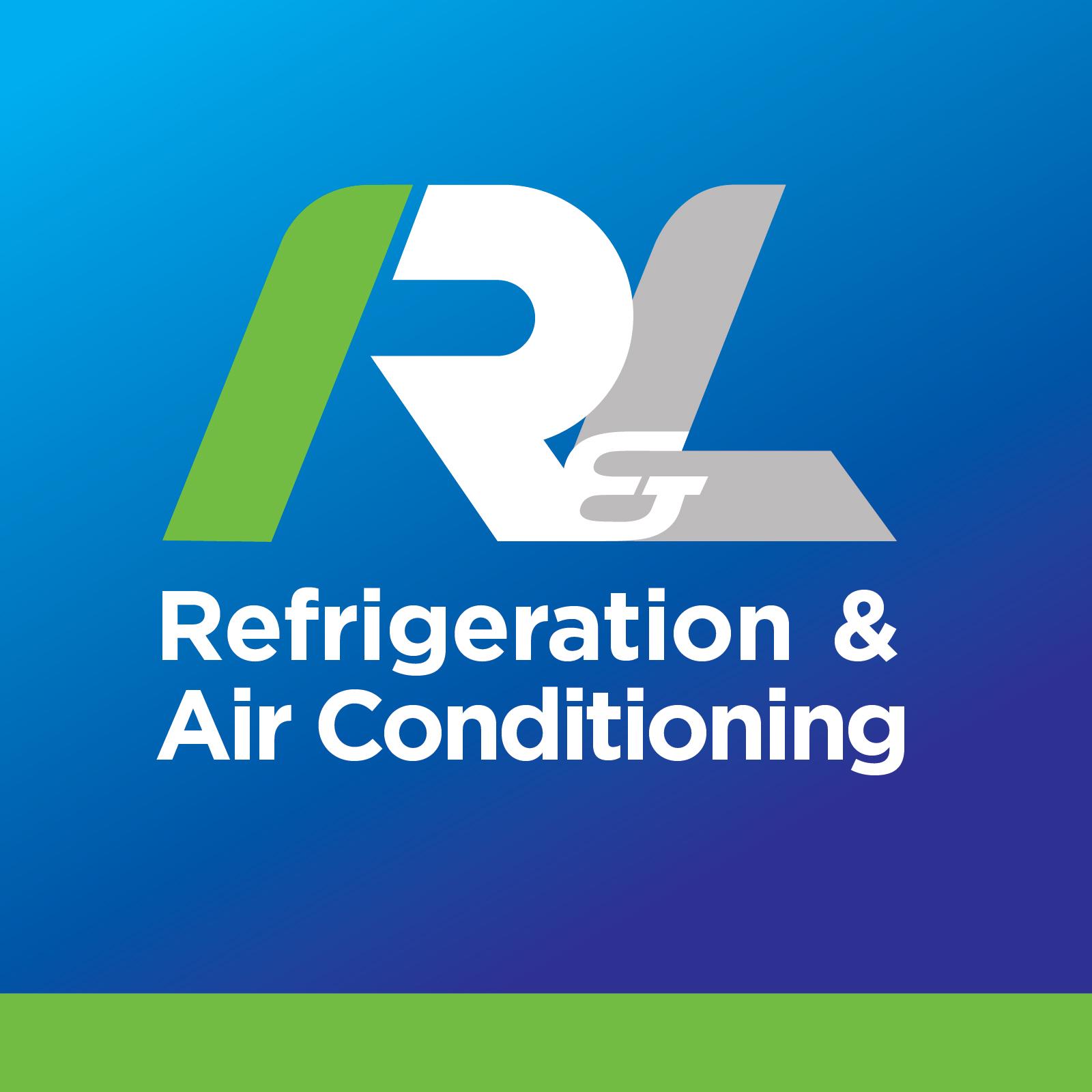 R and L logo design
