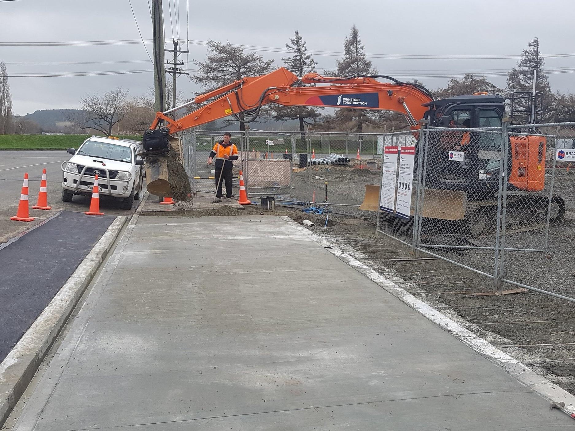 NPD Gore vehicle crossing installation