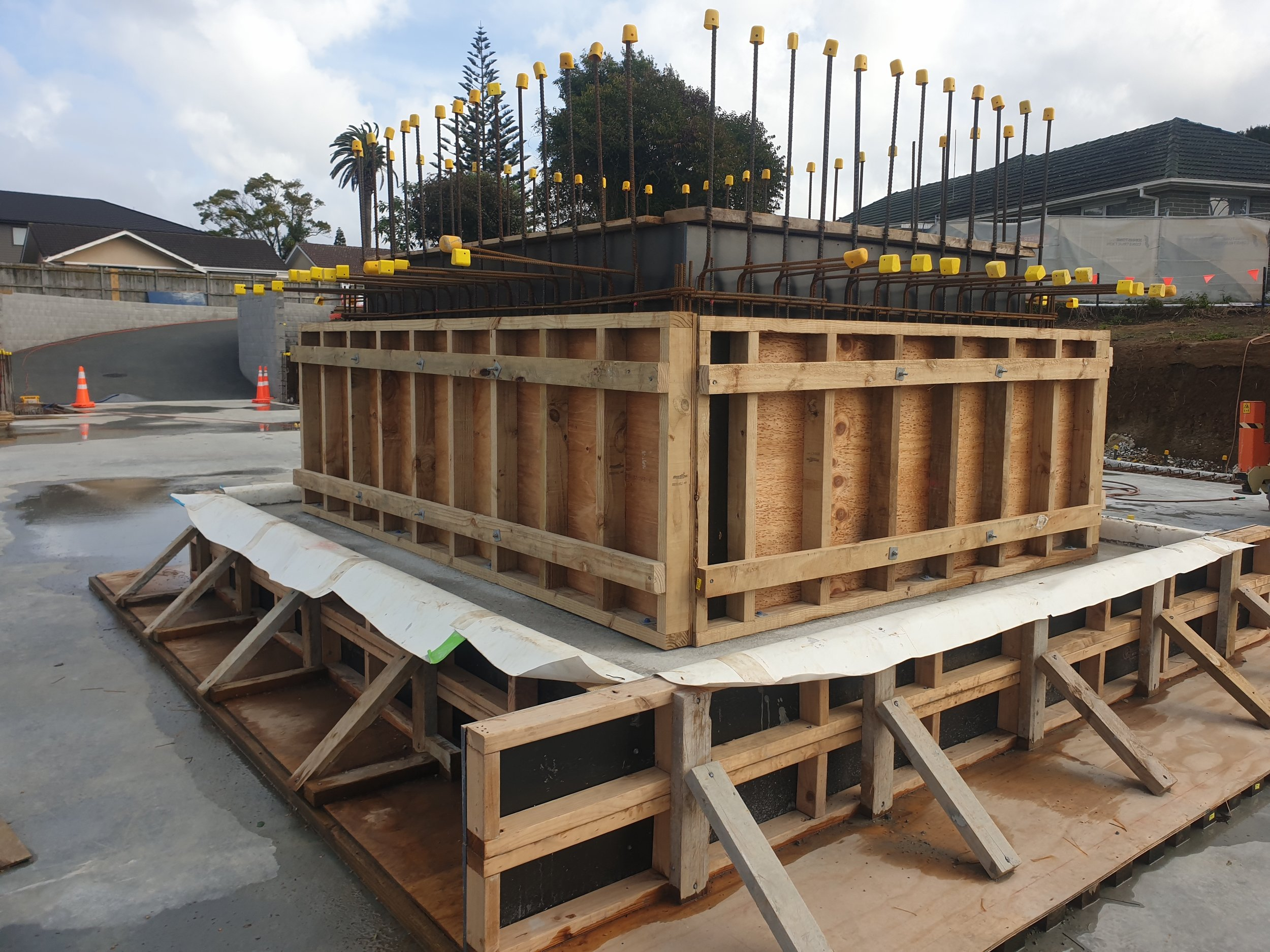 Lift Construction Underway