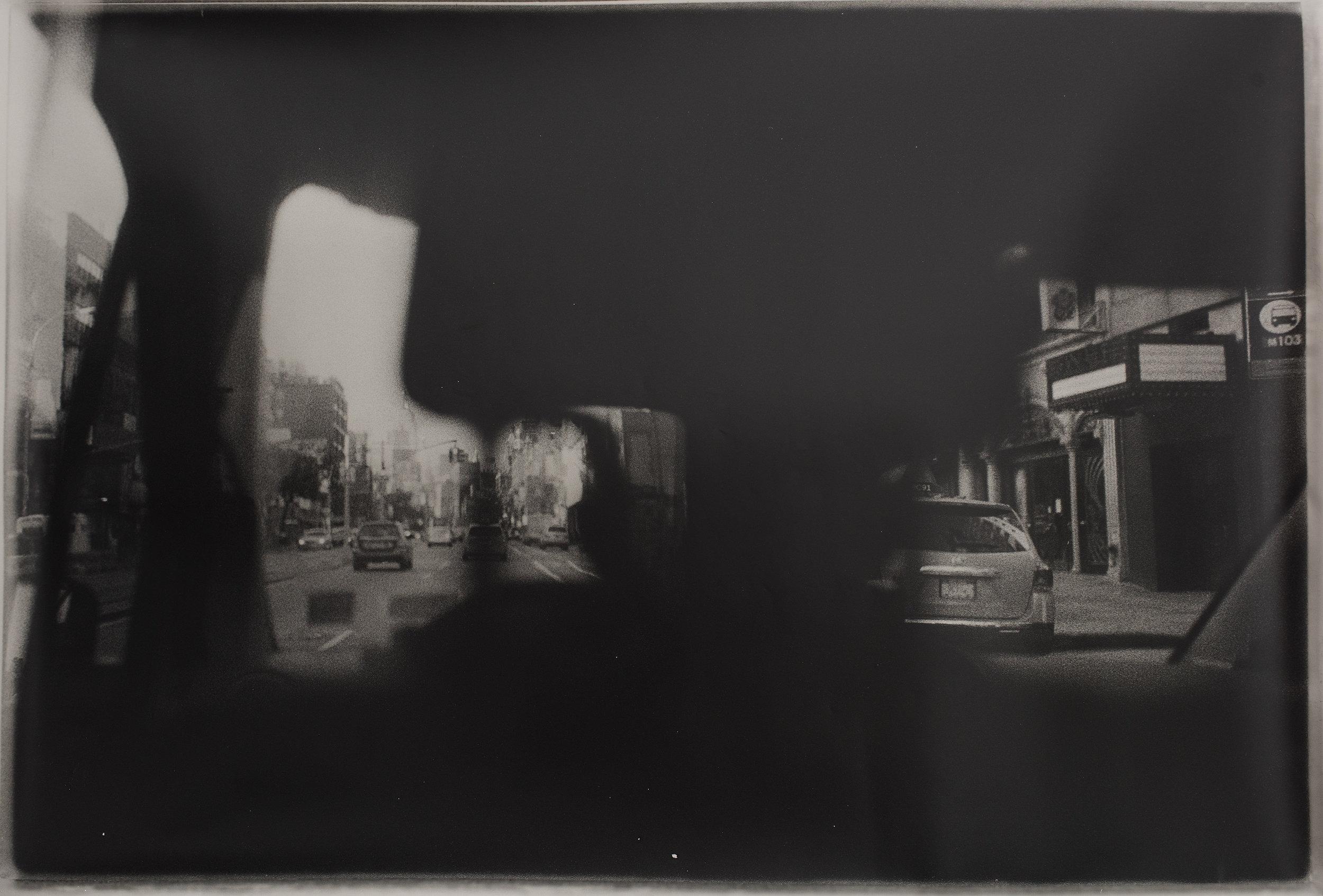 Navigation 2   hand printed silver gelatin fogged black and white photograph  160 x 80cm  2015