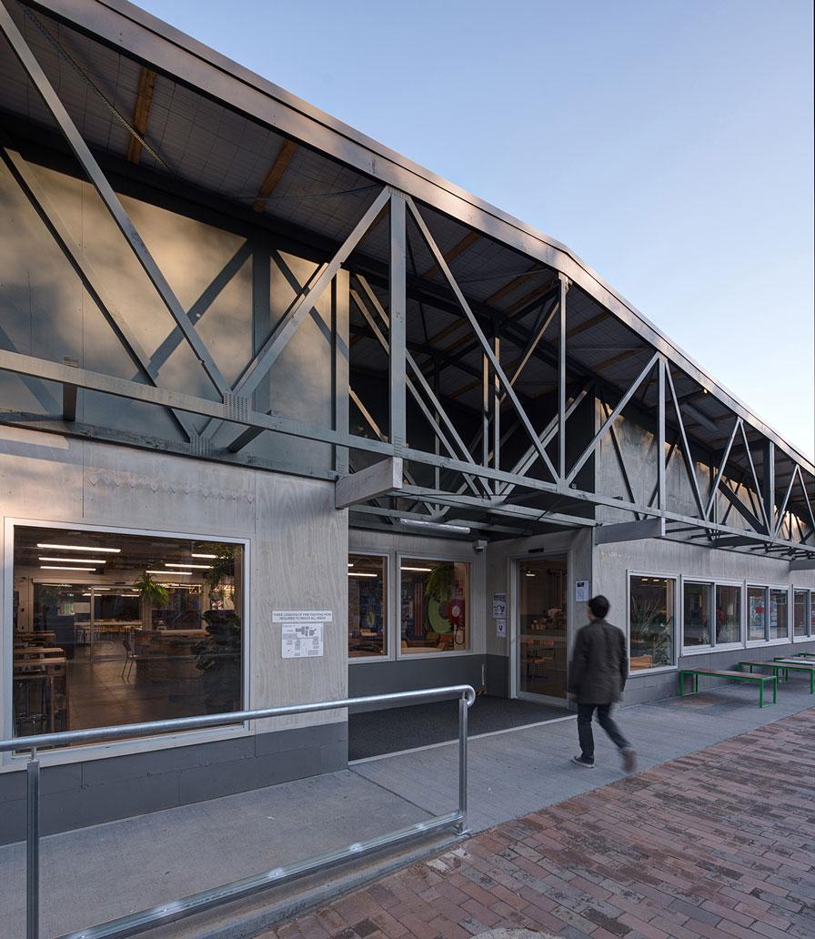 ANU Pop-up Building, Canberra, ACT.