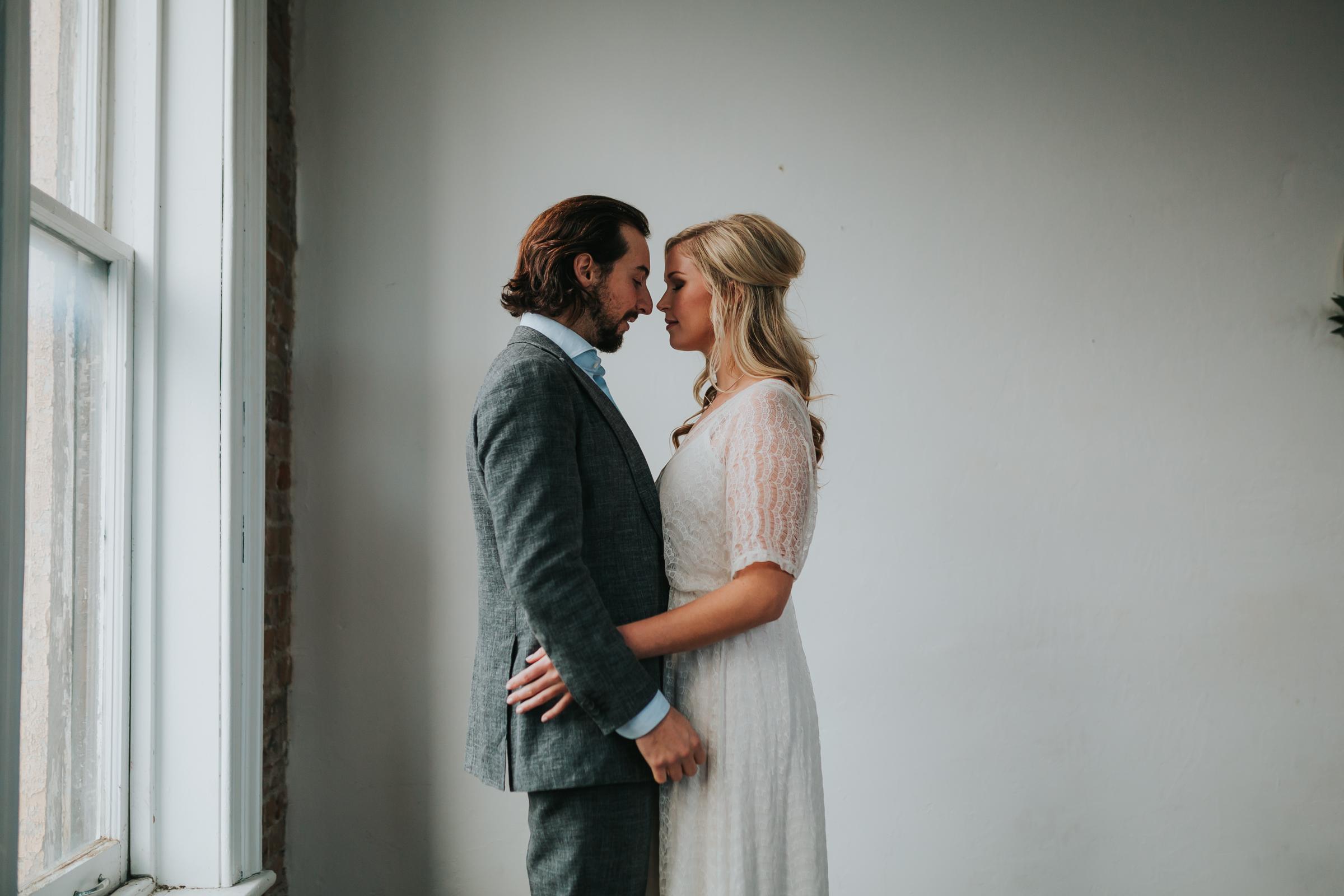 Peterborough wedding couple