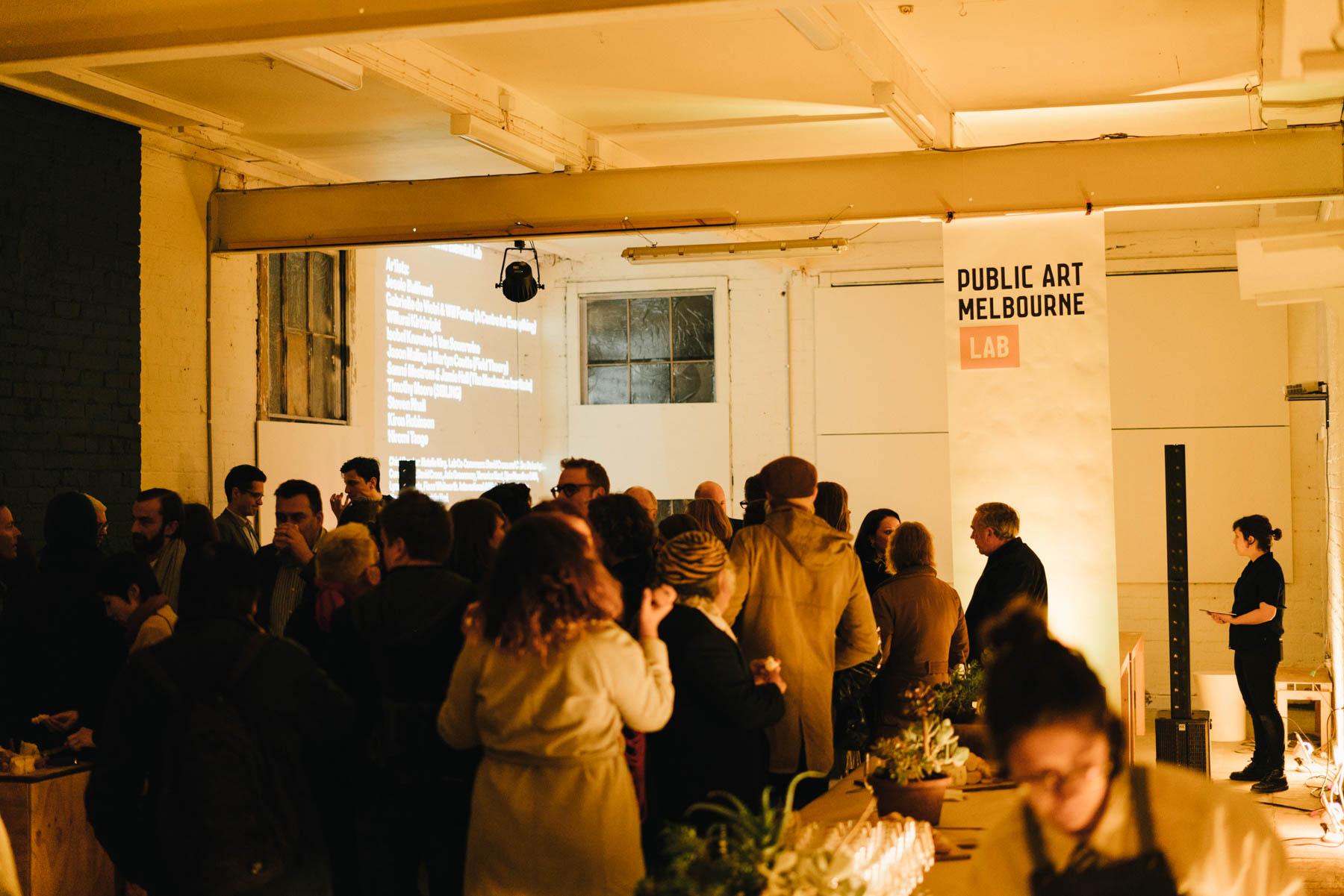 Biennial Lab welcome. Photo: Kristoffer Paulsen.