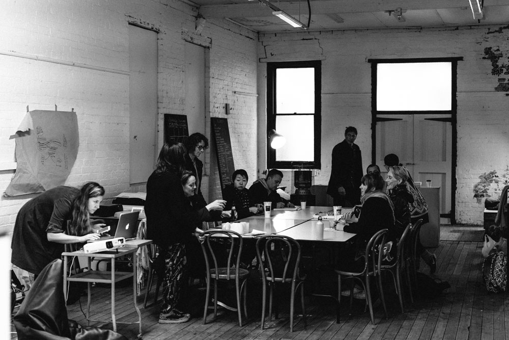 Biennial Lab workshop setup. Photo: Kristoffer Paulsen.