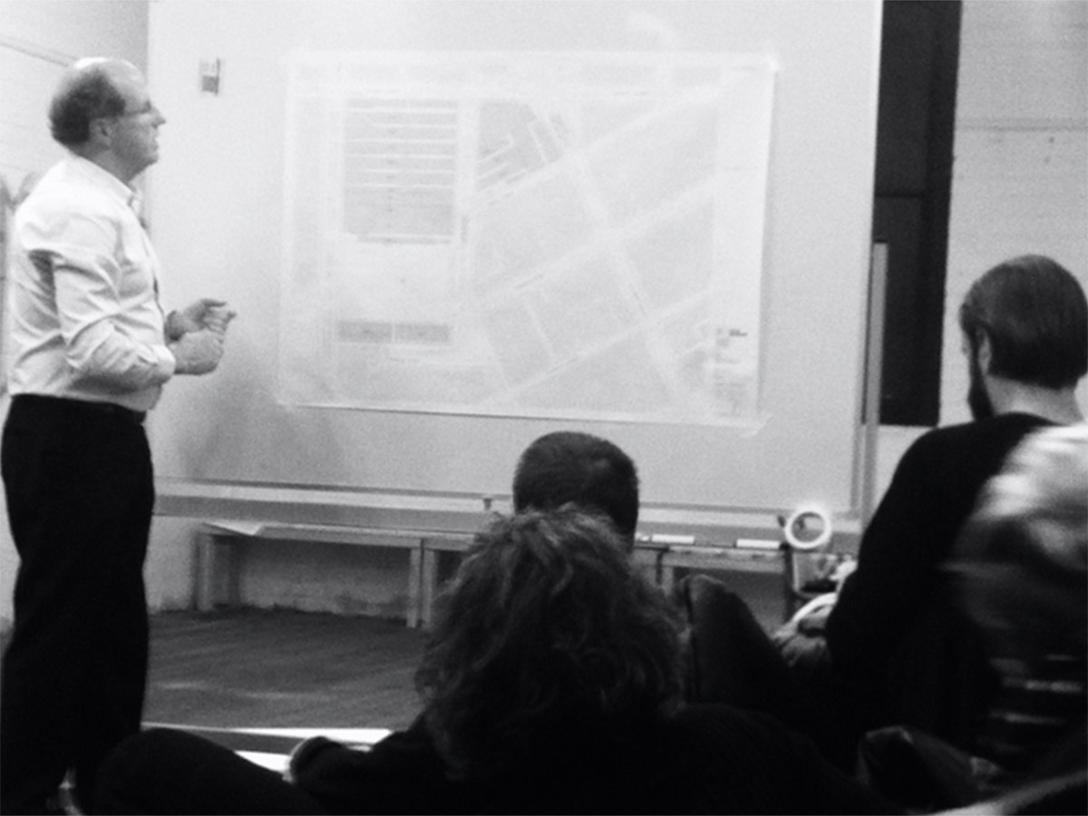 Workshop with Rob Adams, City Design, City of Melbourne.
