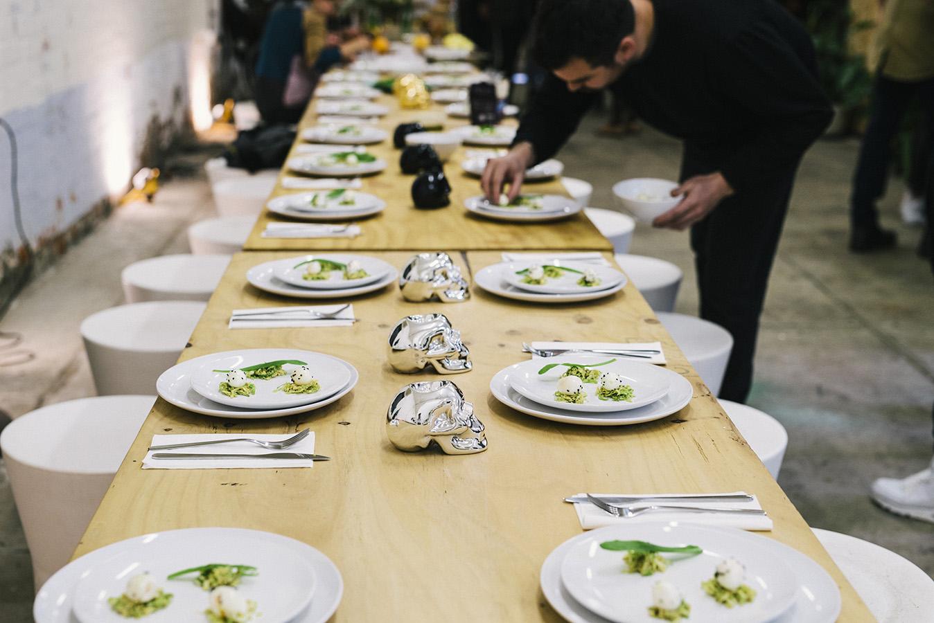 Dinner's up! Photo: Pheobe Powell.