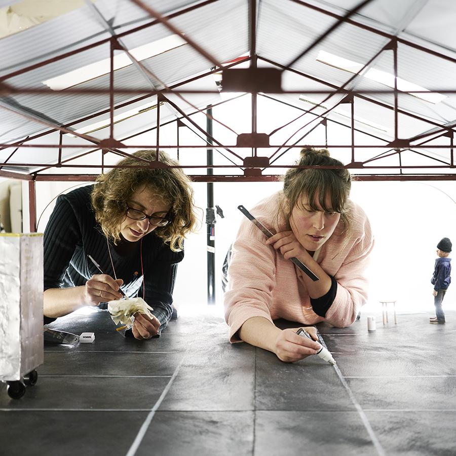 11am   Isobel Knowles and Van Sowerwine's model-making workshop