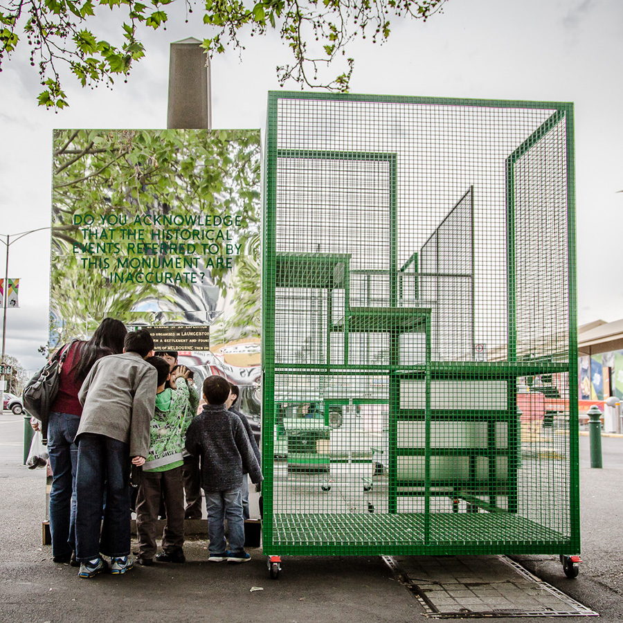 Architecture AU, 'Sibling creates folly for Public Art Melbourne Biennial Lab'