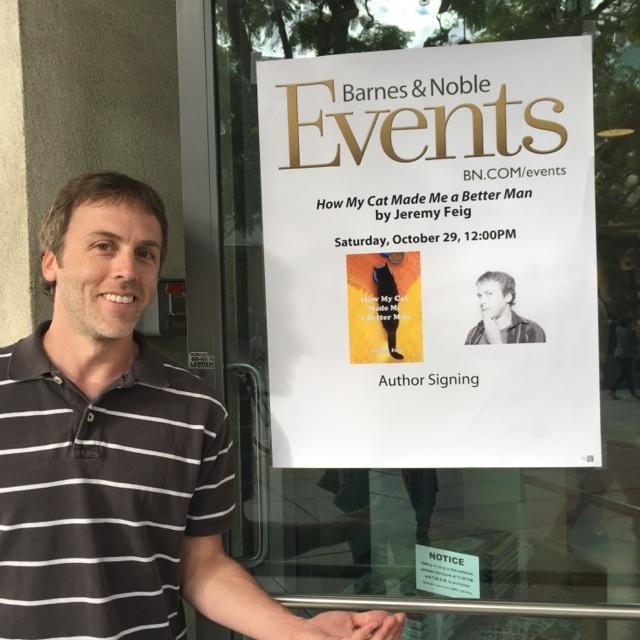 Jeremy Feig Barnes & Noble Book Signing
