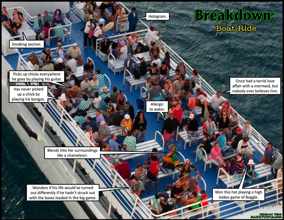 Breakdown: Boat Ride