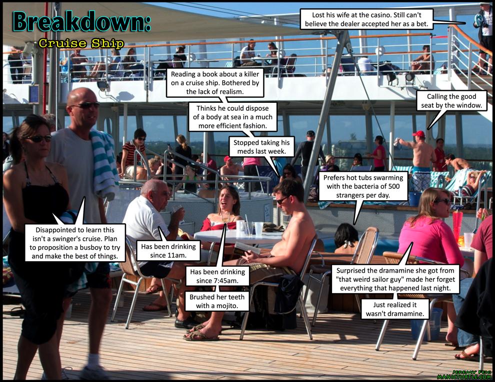 Breakdown: Cruise Ship