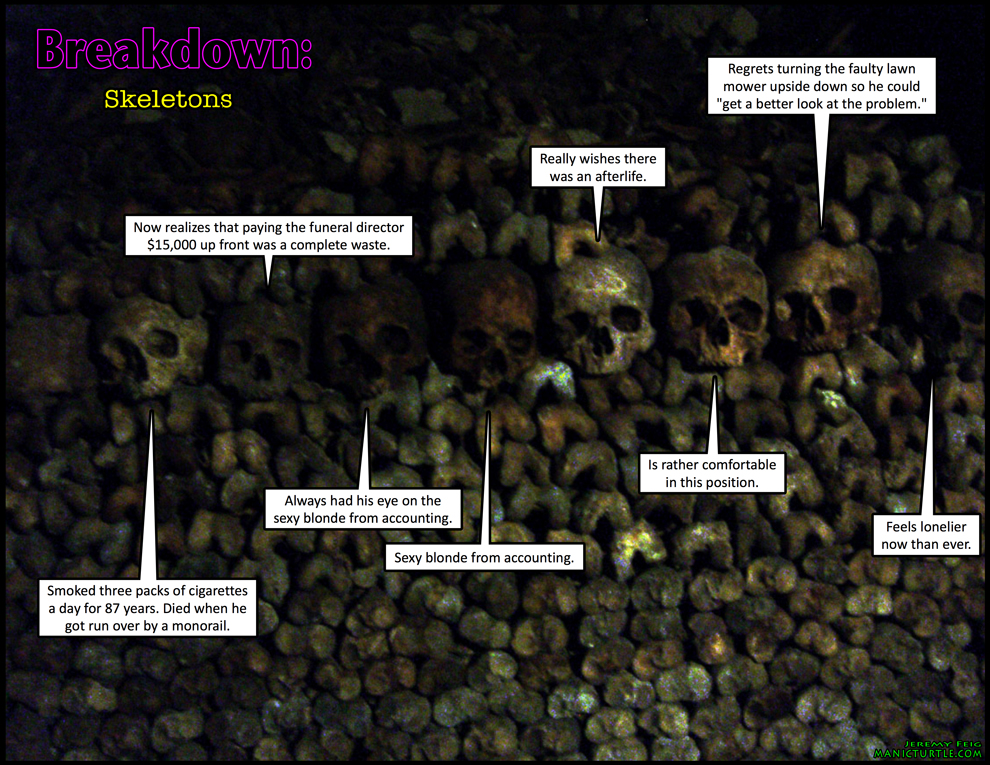 Breakdown: Skeletons